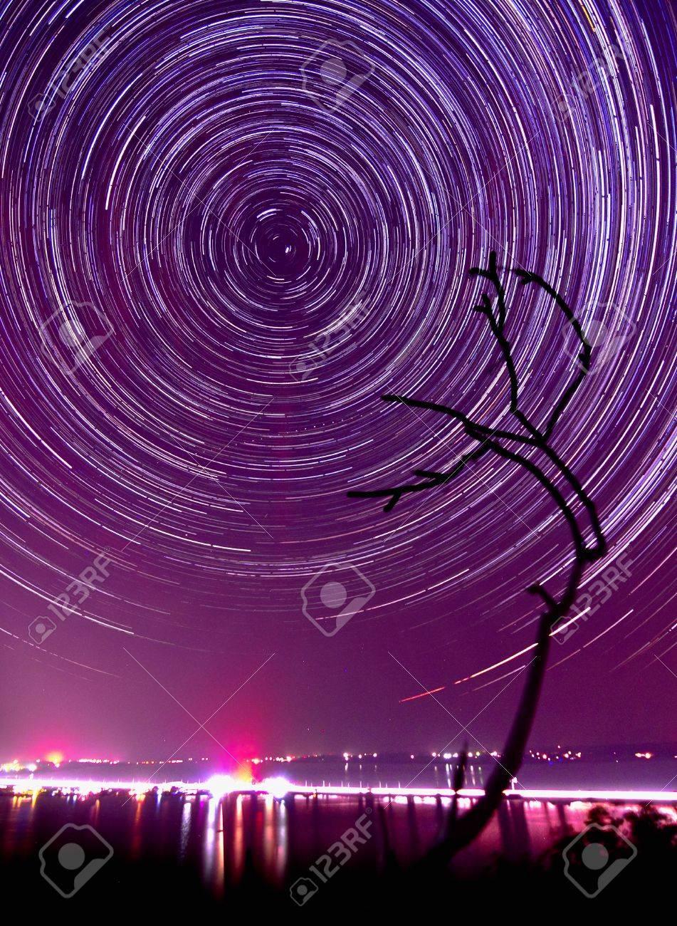 Sterne mit großen Schwänzen