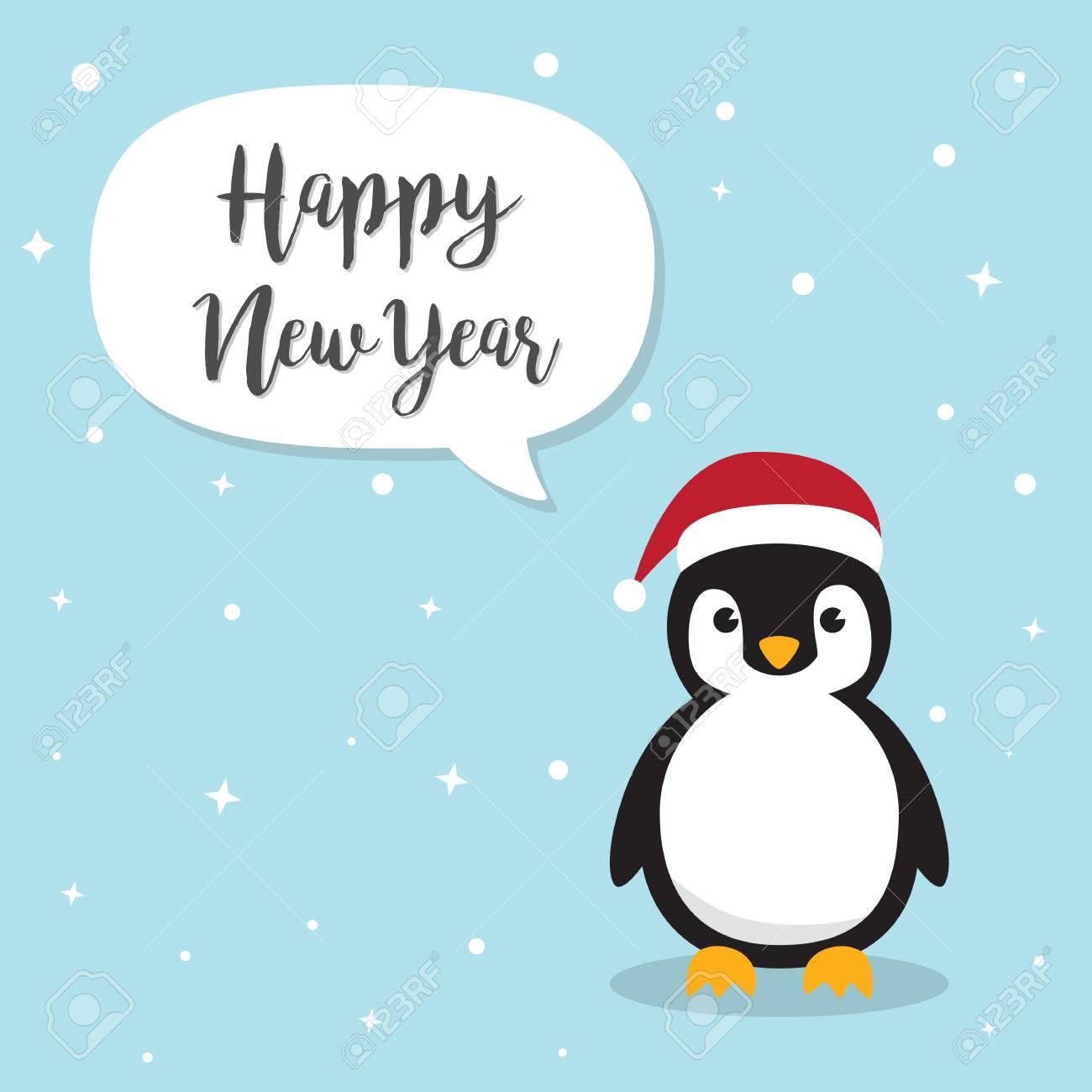 Personagem De Desenho Animado De Pinguim Pinguins Bonitos Que