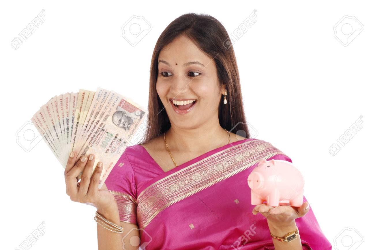 Image result for money with girl indian