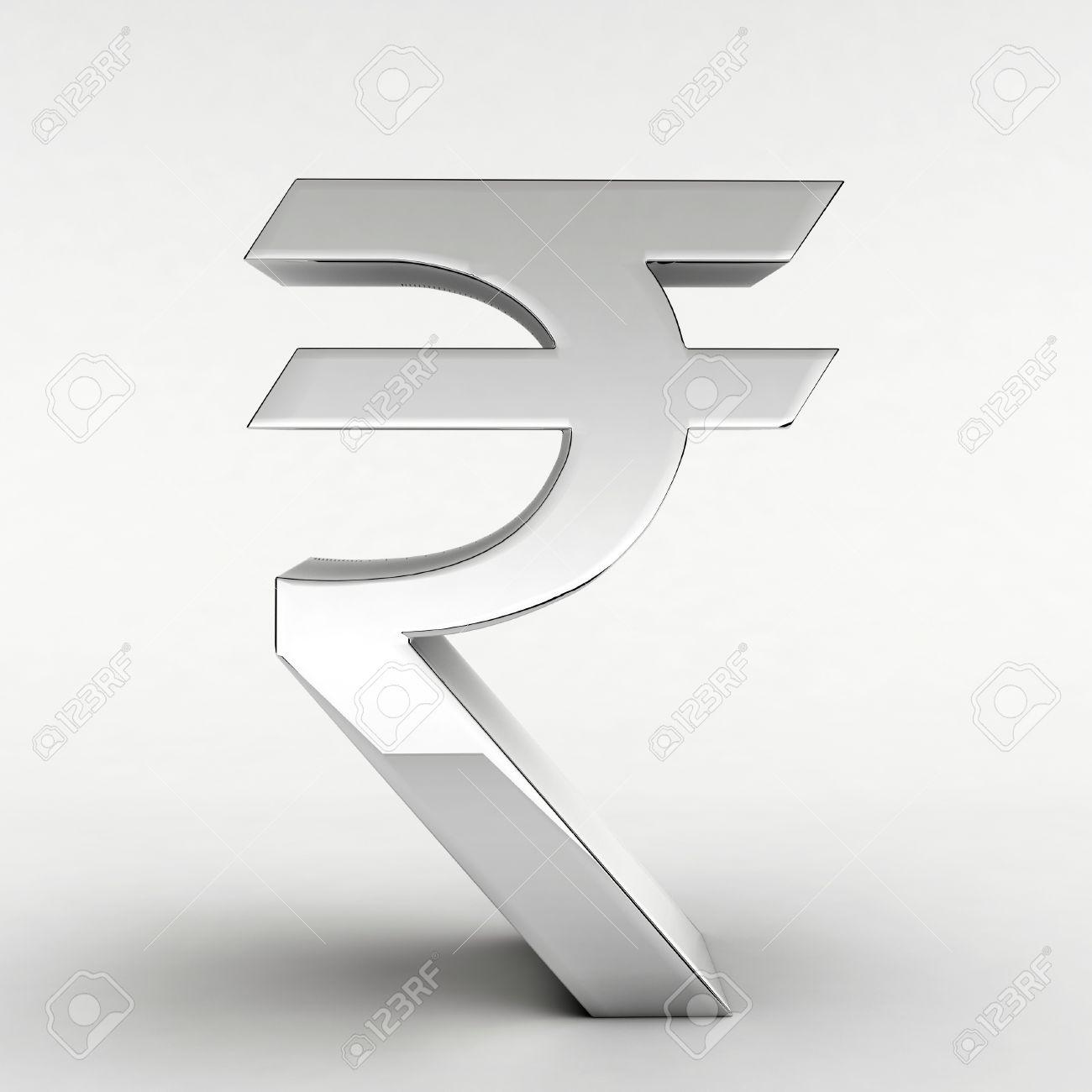 Silver indian rupee symbol 3d rendering stock photo picture and silver indian rupee symbol 3d rendering stock photo 12042830 biocorpaavc Choice Image