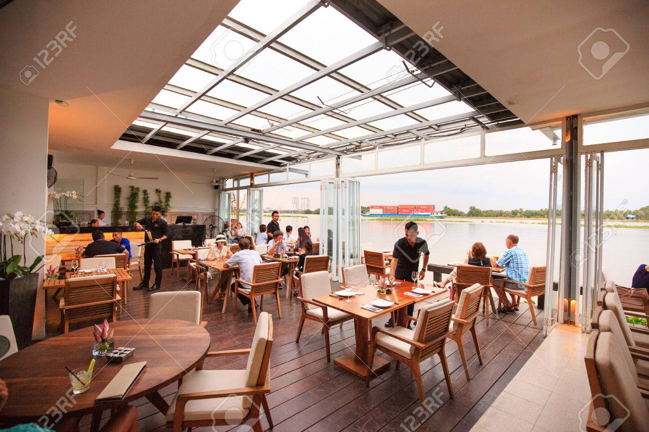 hochiminh city vietnam june 5 2015 at a floating restaurant on saigon river according to - Large Restaurant 2015