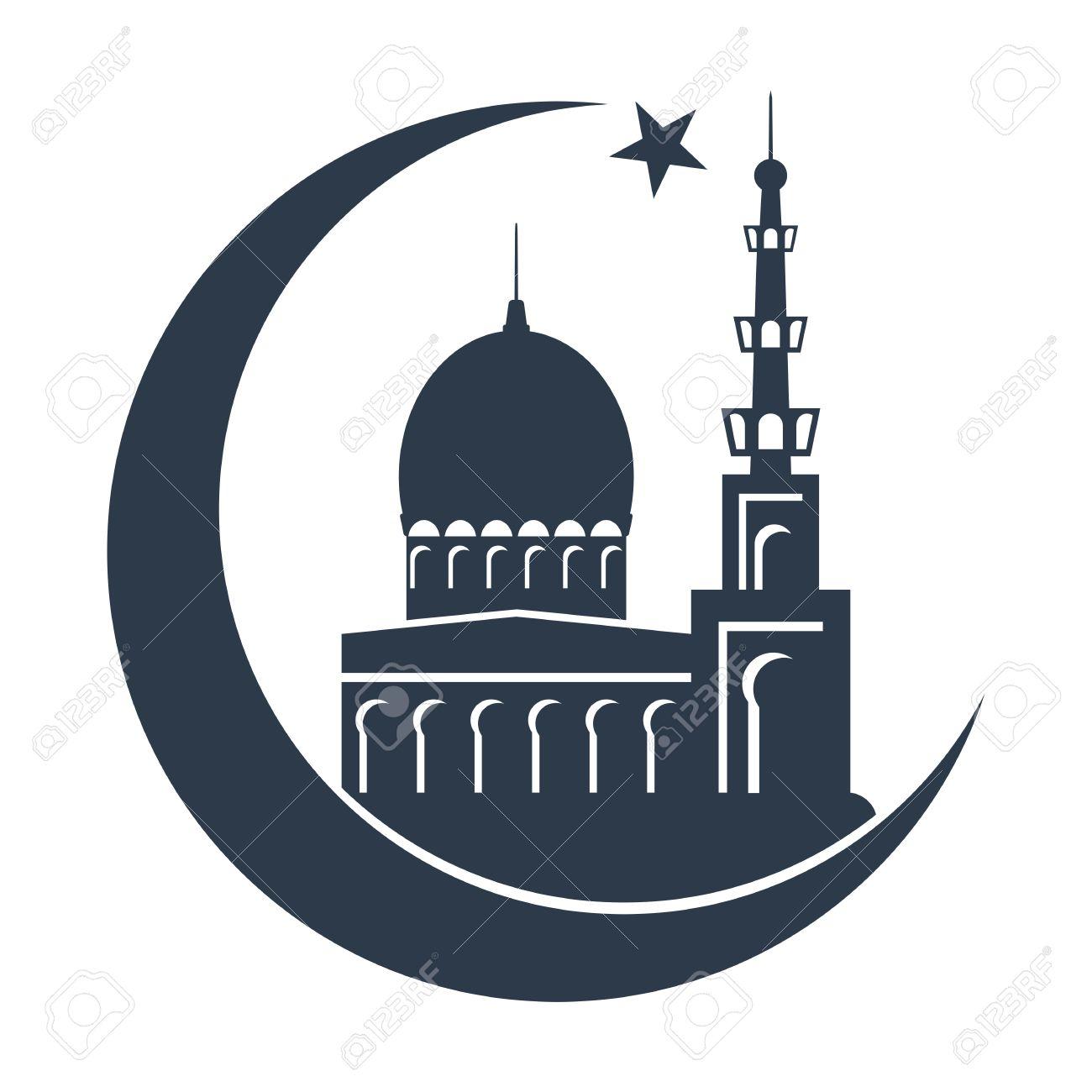 Turkish islamic mosque black silhouette template for holiday turkish islamic mosque black silhouette template for holiday greeting cards arabic booklets brochures kristyandbryce Gallery