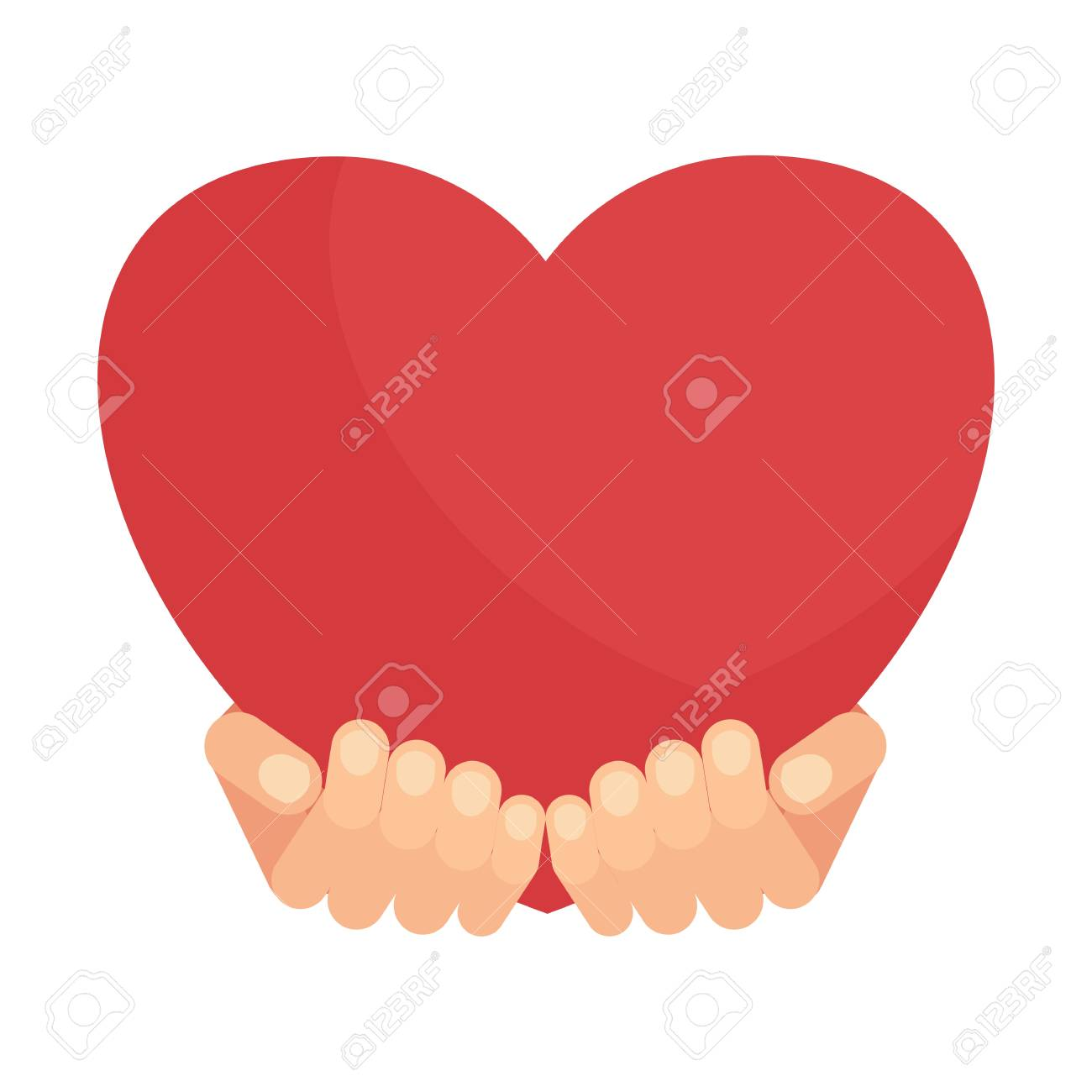 Hands holding big red heart symbol of passionate feeling of hands holding big red heart symbol of passionate feeling of love postcard valentines day buycottarizona Image collections
