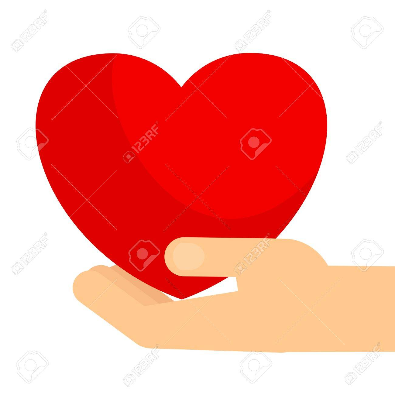 Hands holding big red heart symbol of love and kindness care symbol of love and kindness care and attention buycottarizona Gallery
