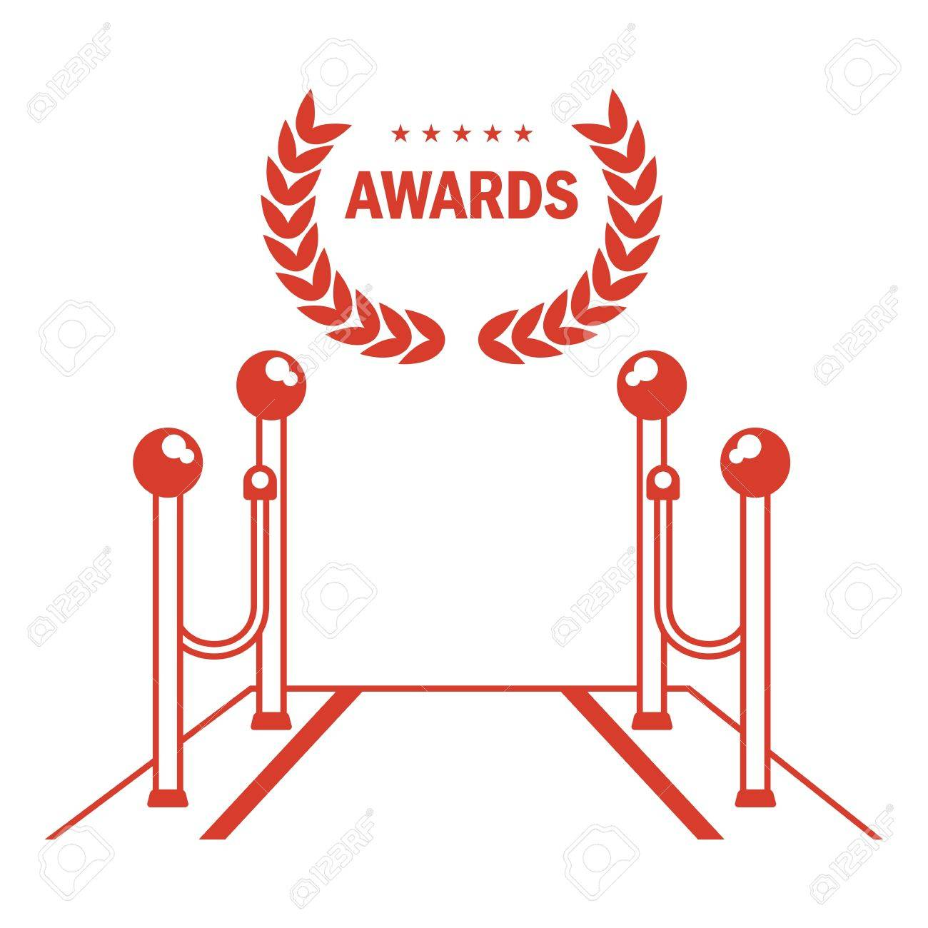 Red Carpet For Holiday Greeting Ceremonies Award Honoring The Royalty Free Cliparts Vectors And Stock Illustration Image 76873860