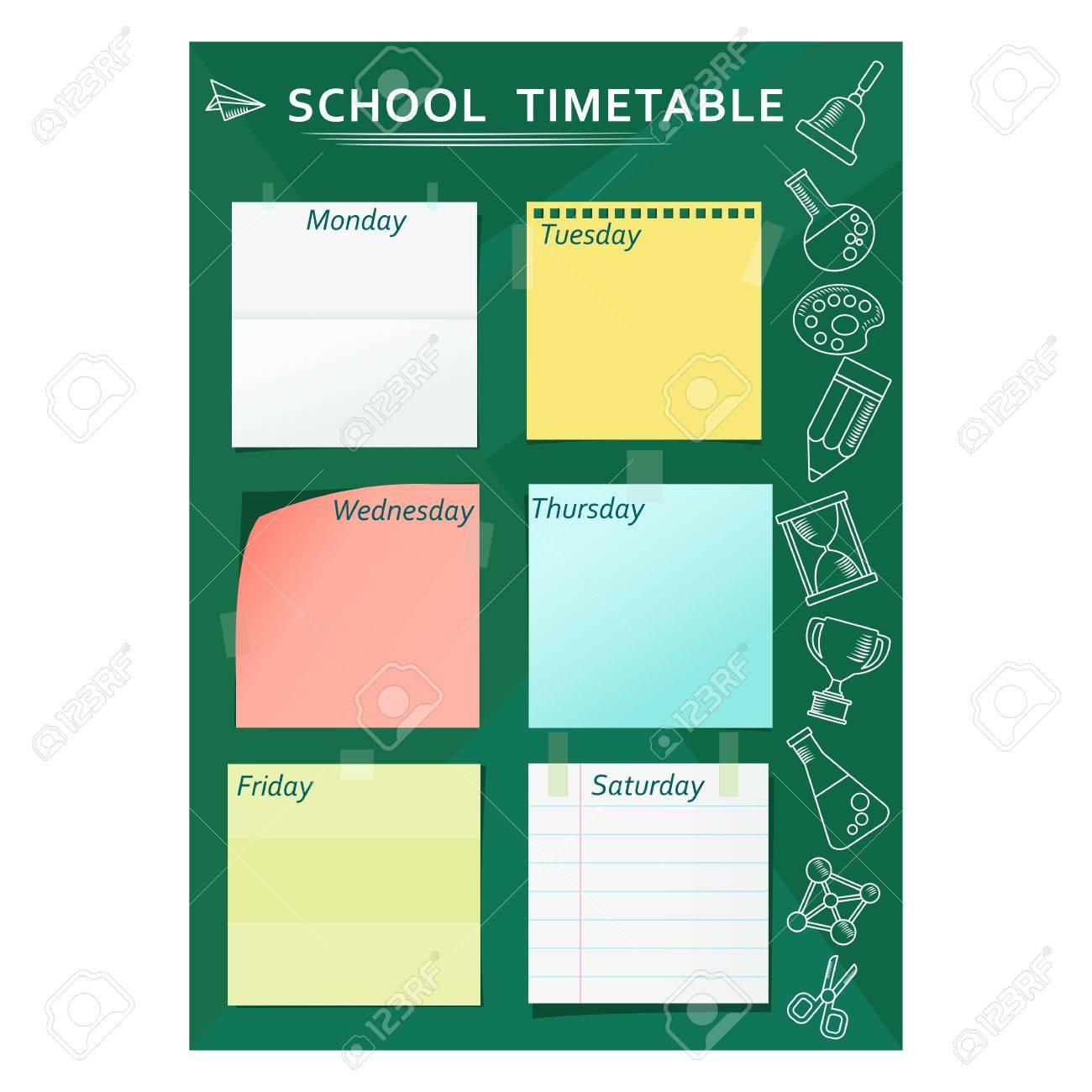Week Timetable Ukrandiffusion