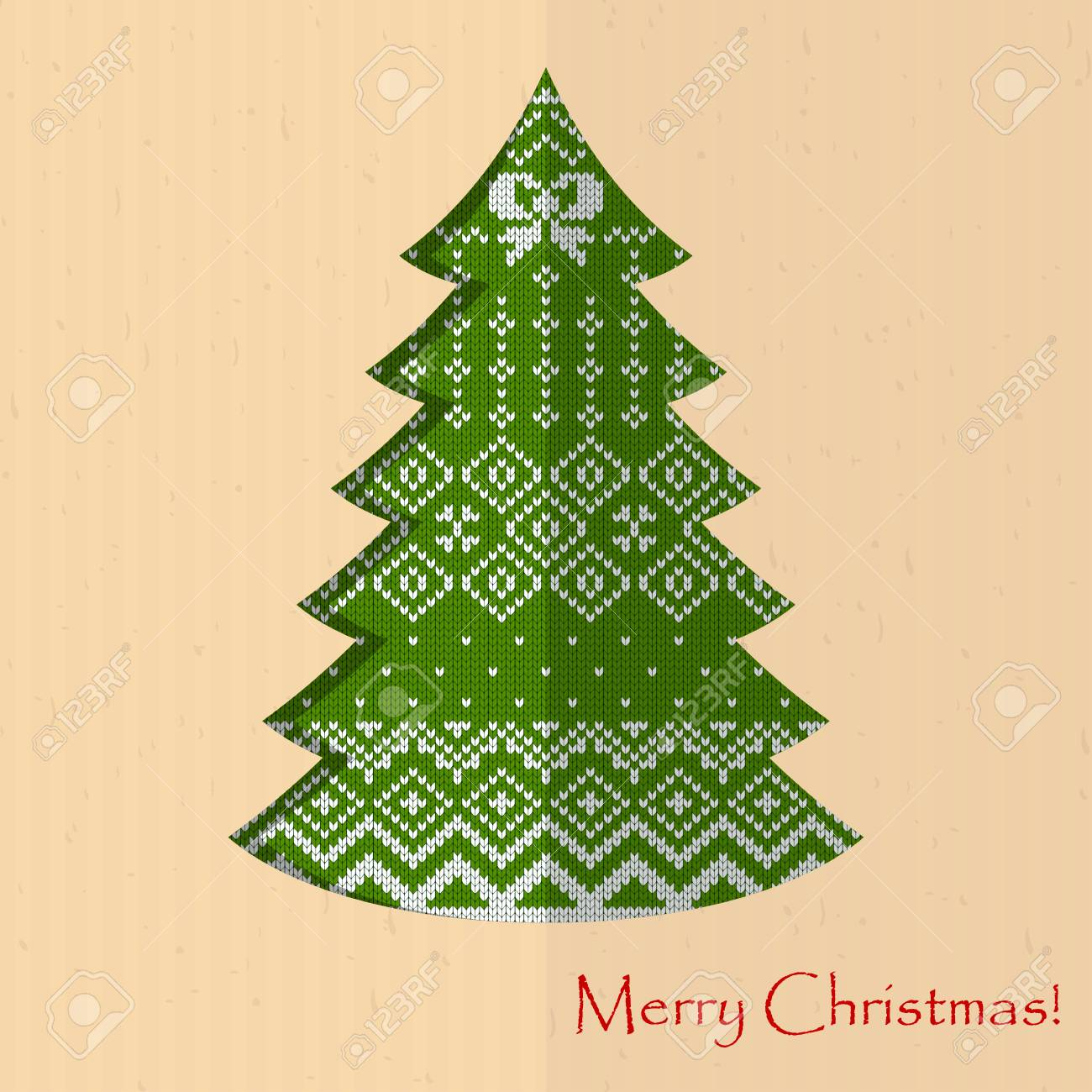 Bastelpapier Weihnachten.Handmade Postcard To New Year And Christmas Congratulations