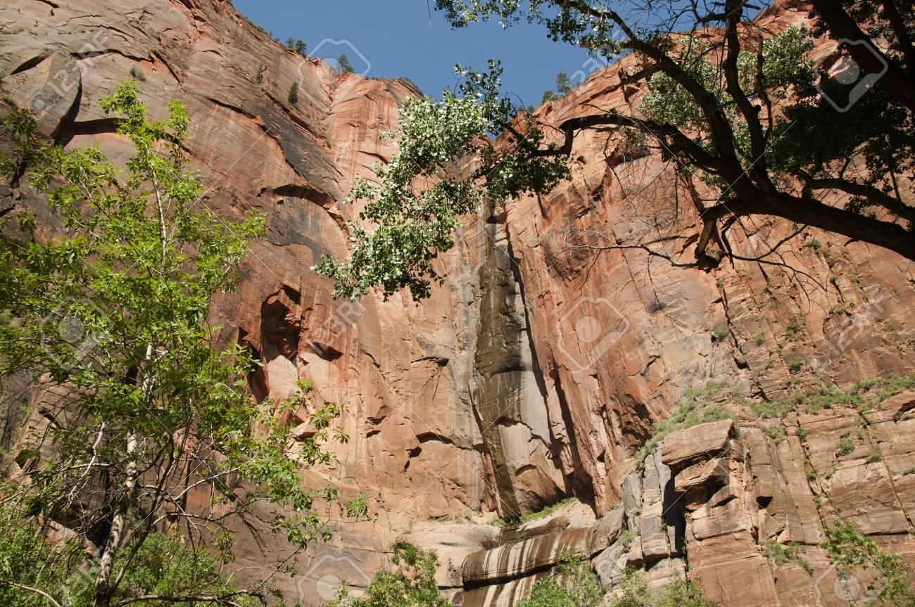 Beautiful Zion National Park Utah Stock Photo - 10457166