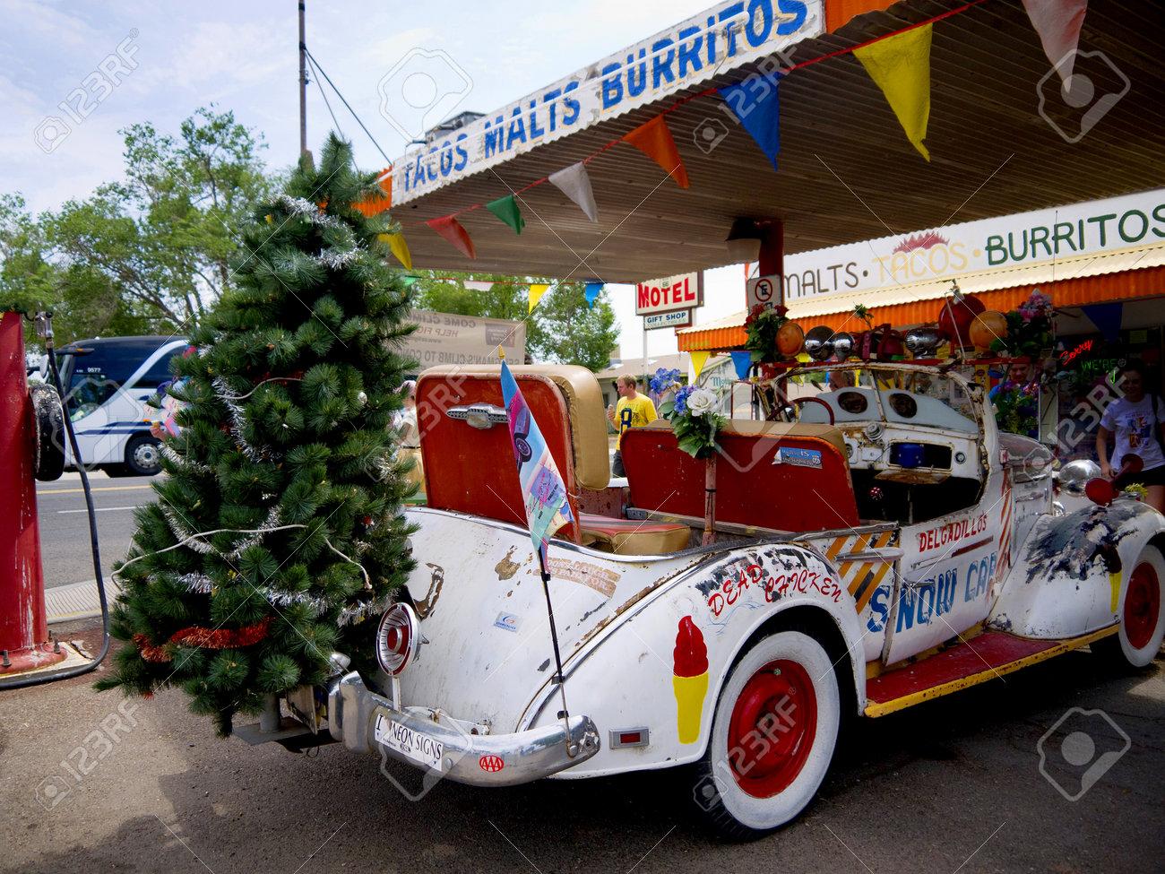 Seligman town on Route 66 in Yavapai County, Arizona, United States Stock Photo - 14699864