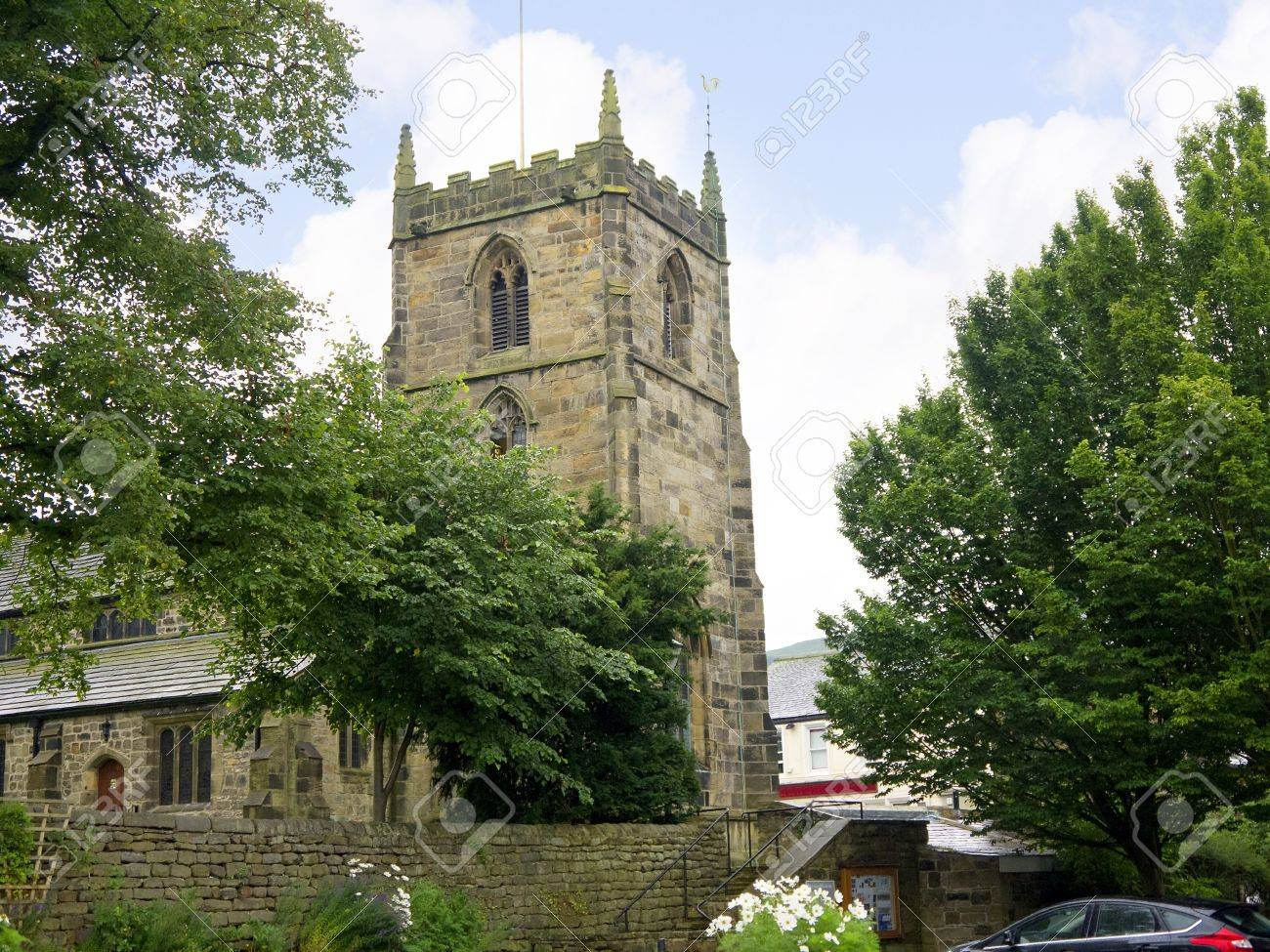all saints church in the spa town of ilkley in west yorkshire