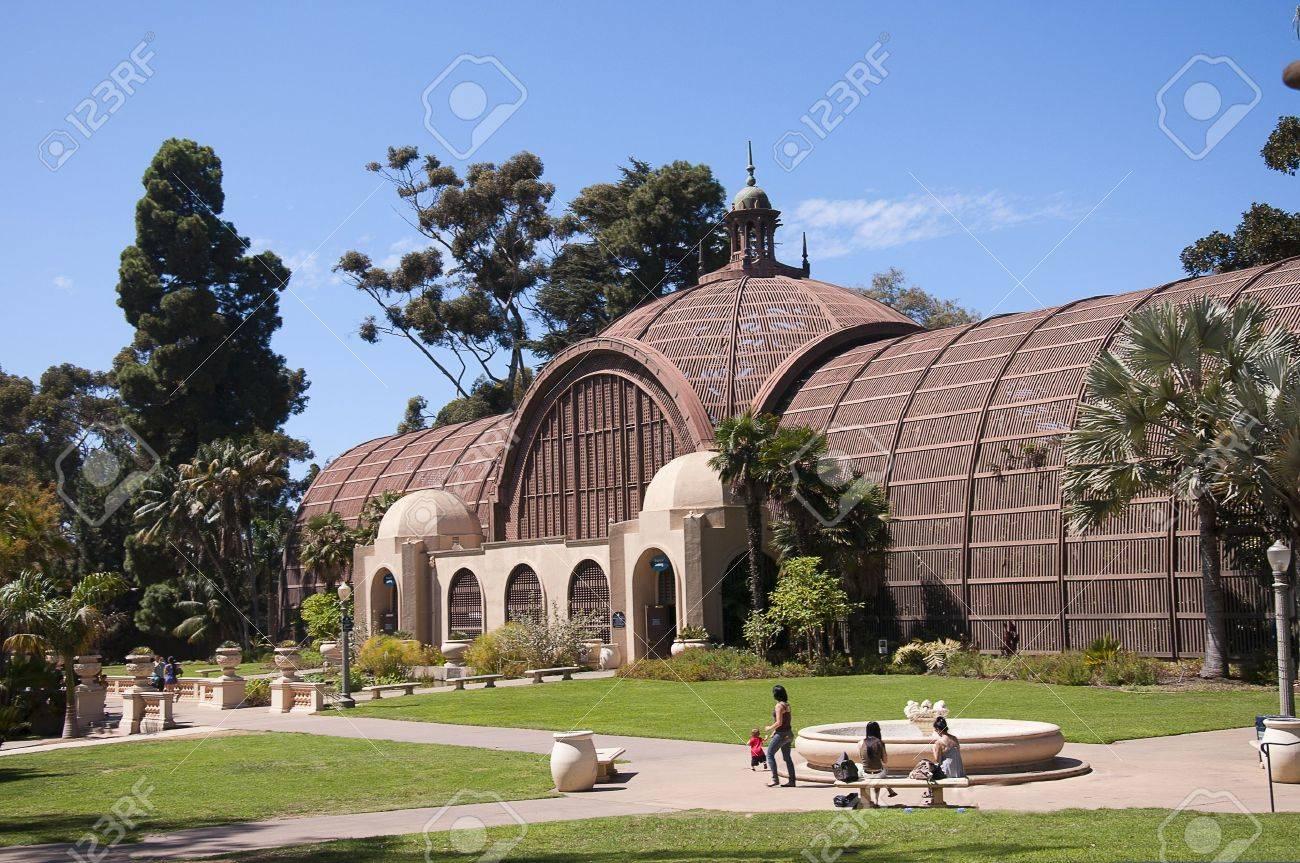 Botanical Garden Building In Balboa Park In San Diego California USA Stock  Photo   15543327