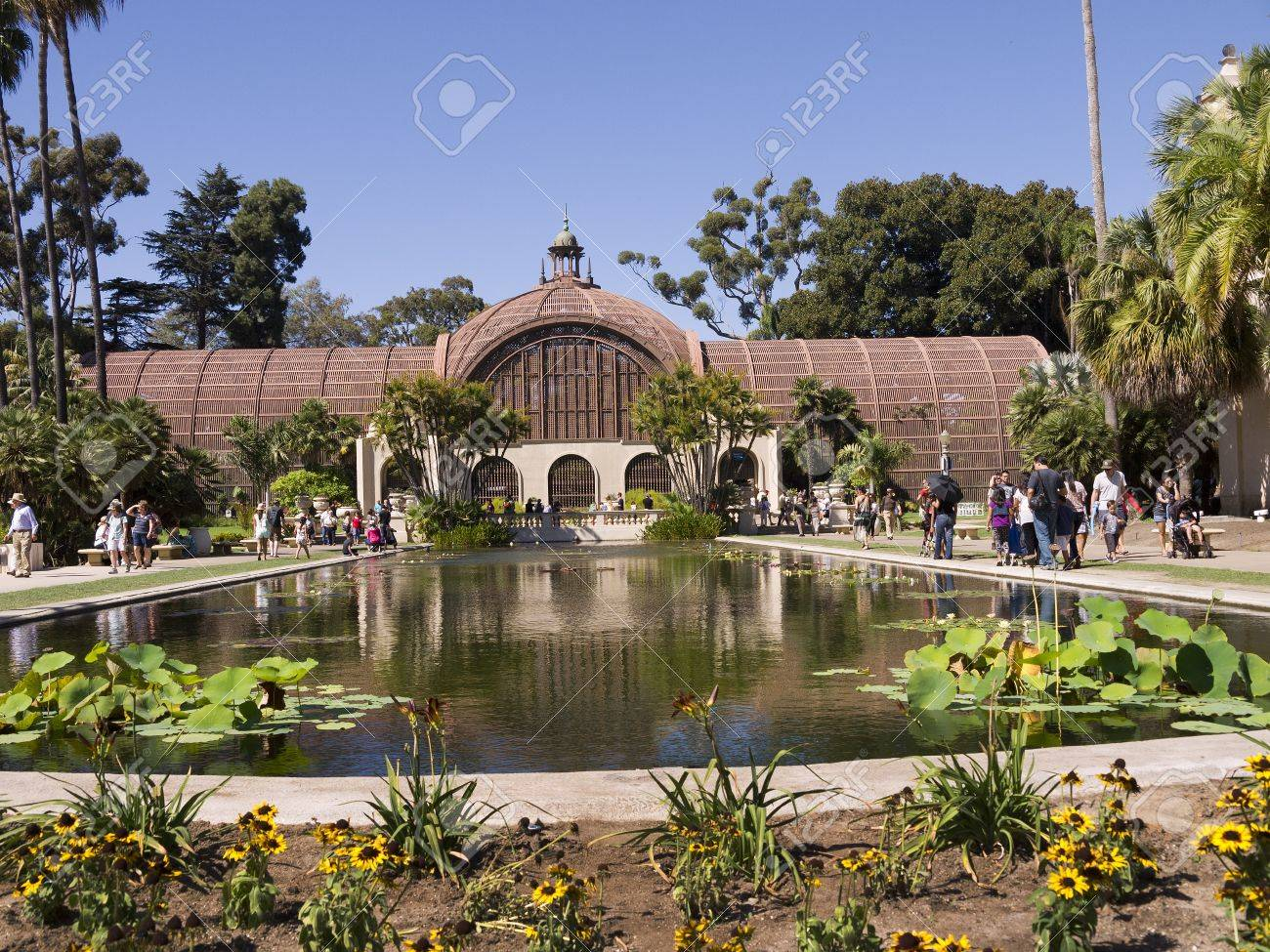 Botanical Garden Building In Balboa Park In San Diego California ...