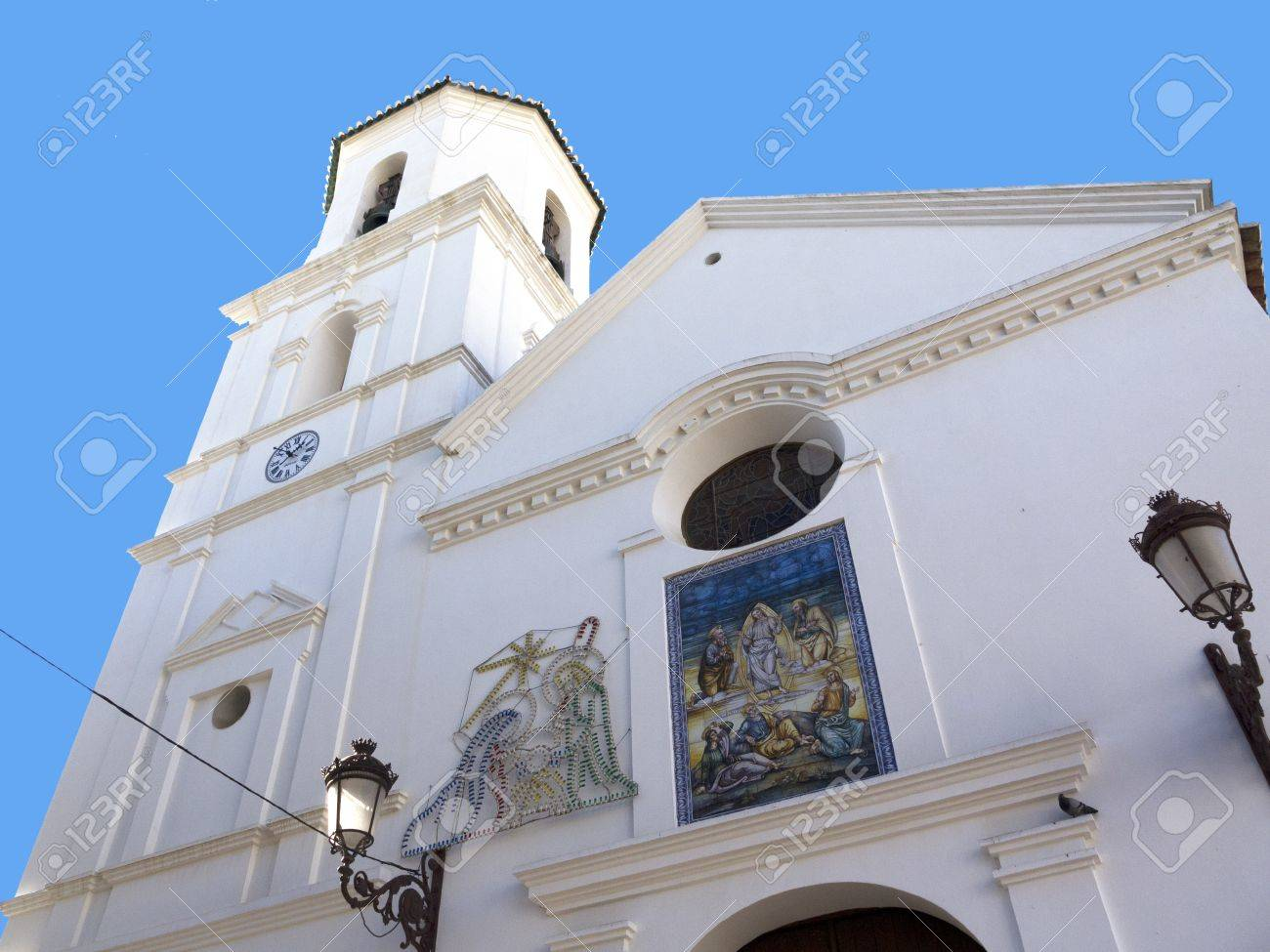 Parish Church of San Salvatore in Nerja Andalucia Spain Stock Photo - 17391642