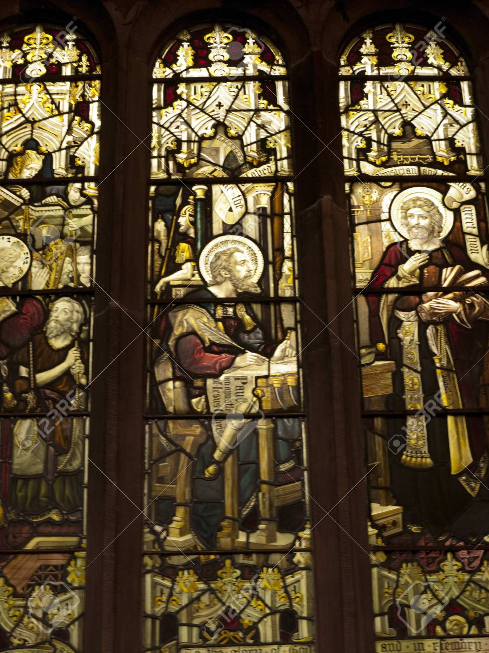 La Fenetre De Mayo Dans L Eglise Paroissiale De St Mary The Virgin