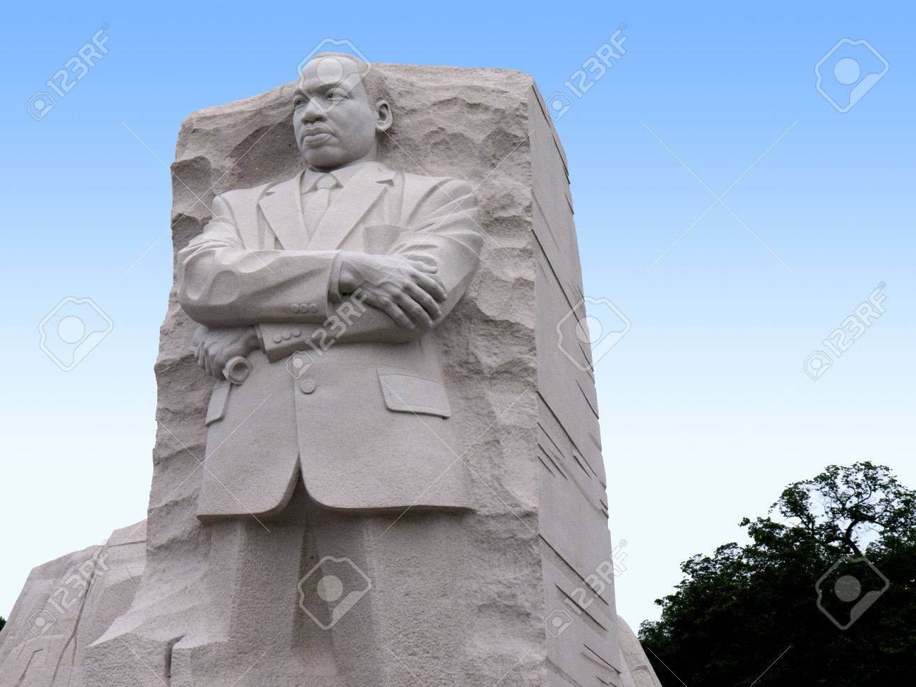 The Martin Luther King Jr Memorial Is Located In West Potomac