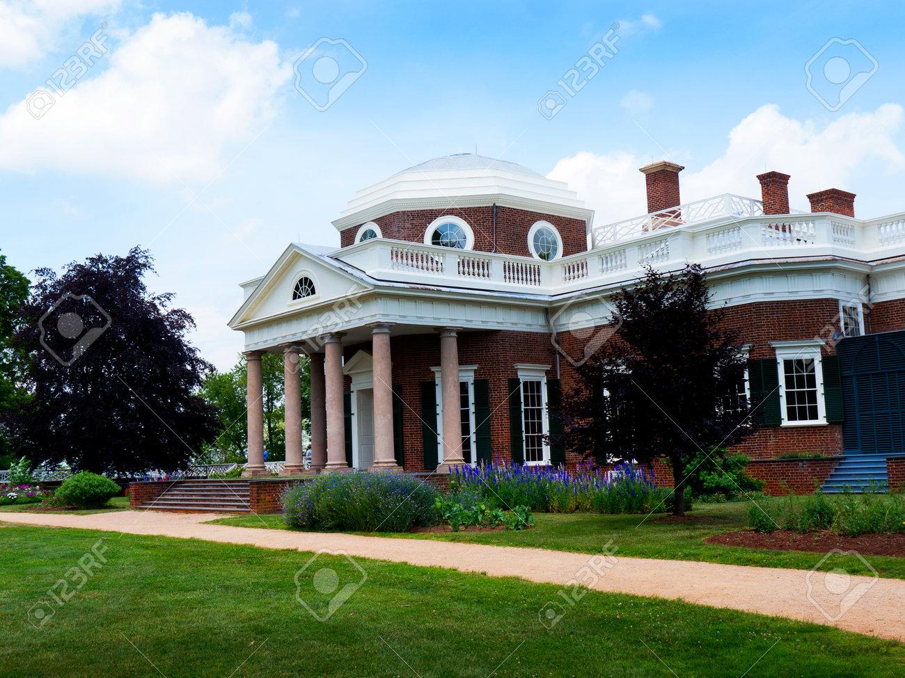 Monticello model house