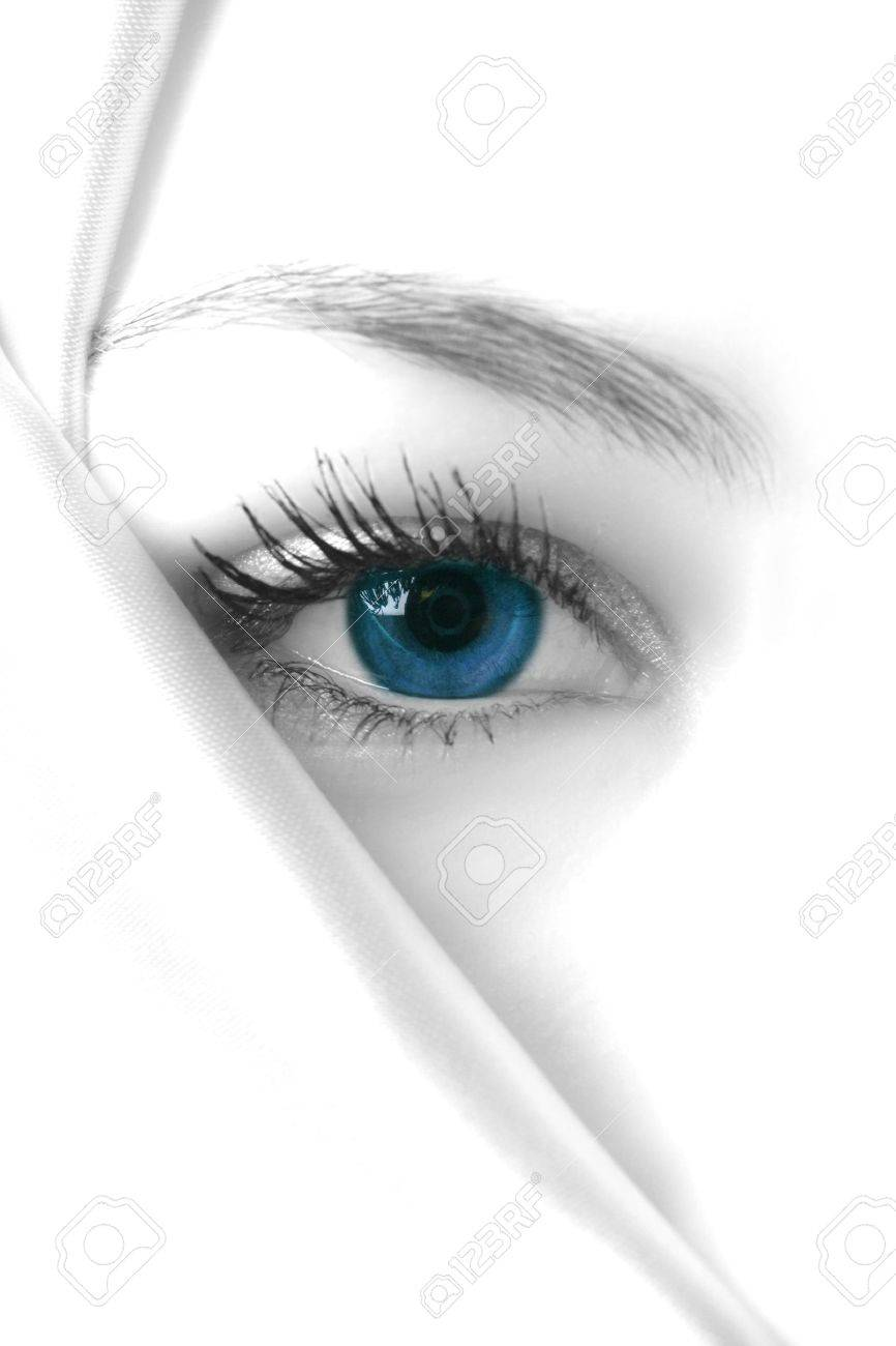 mysterious blue Stock Photo - 353522