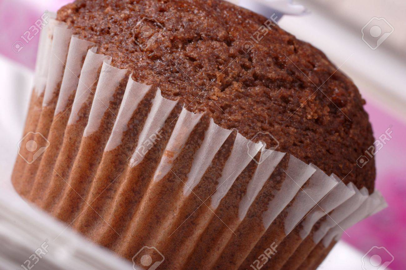 Chocolate Dessert Bun Muffin Fairy Cake Stock Photo 633036
