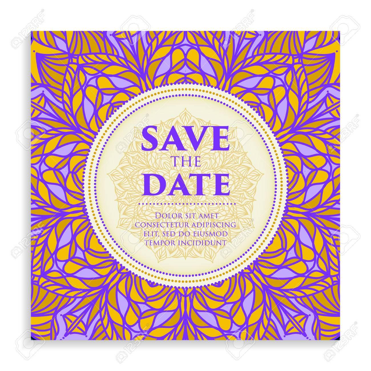 vintage template design layout for wedding invitation wedding