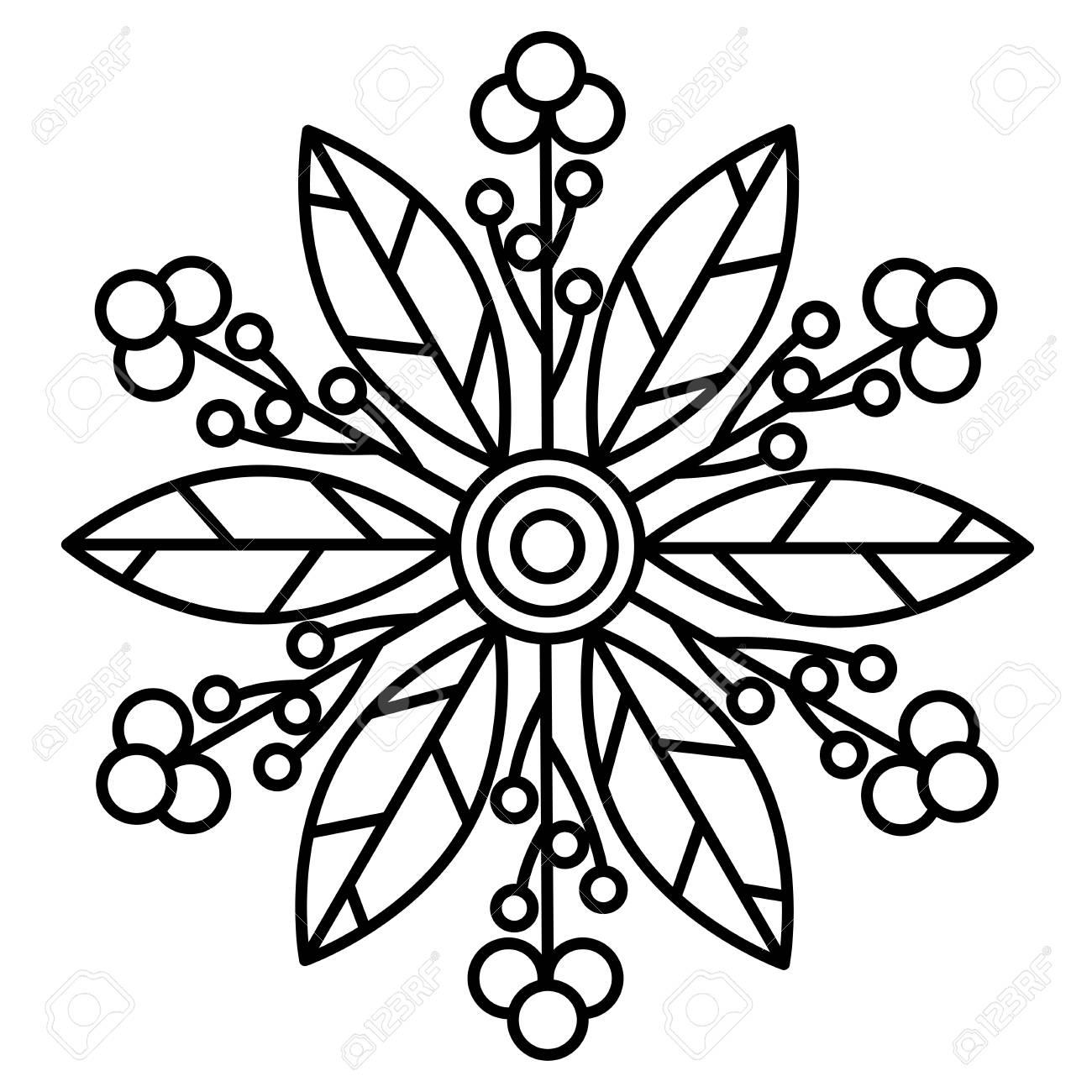 Beginner Abstract Mandala Art