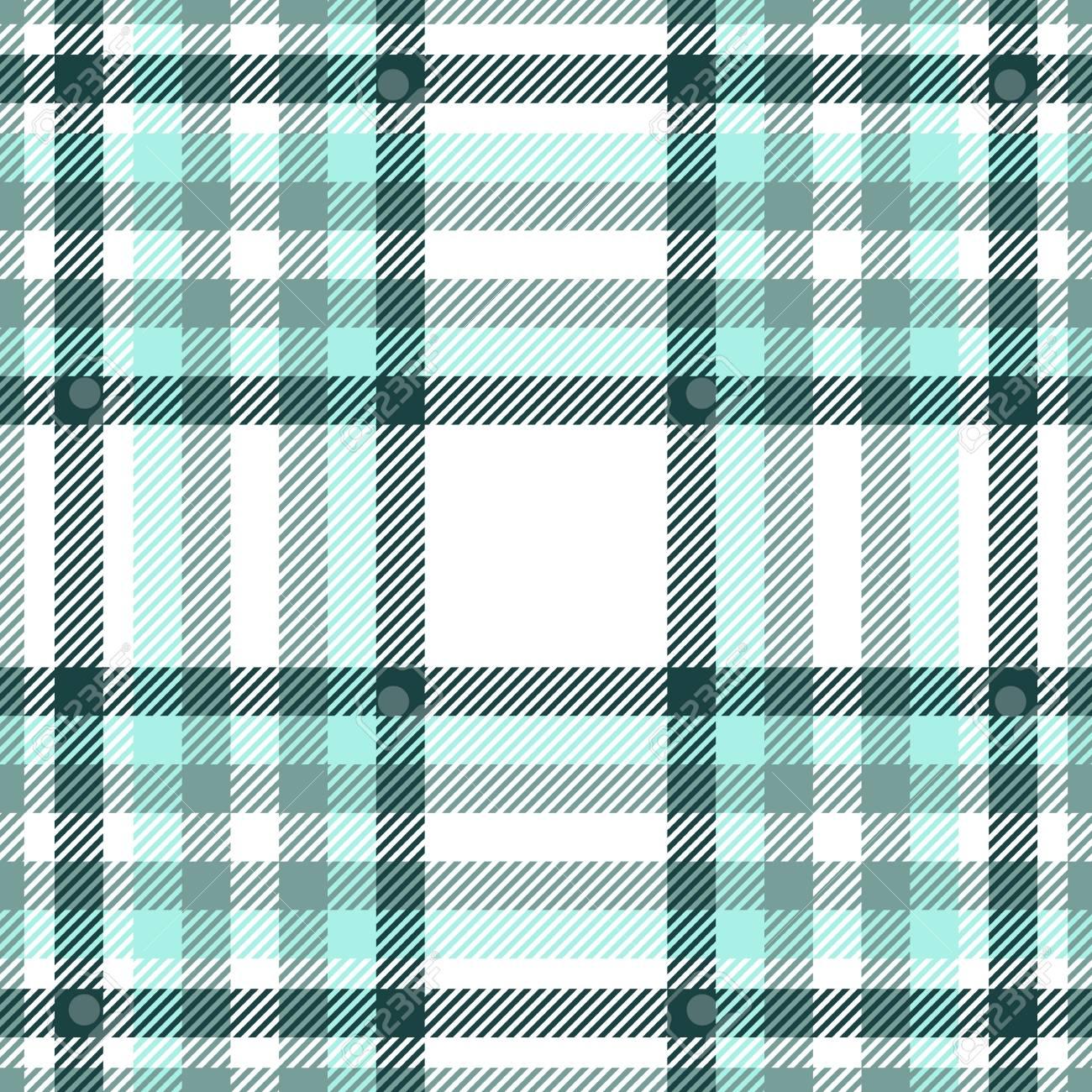 Plaid check pattern. Seamless checkered fabric texture. - 122854853