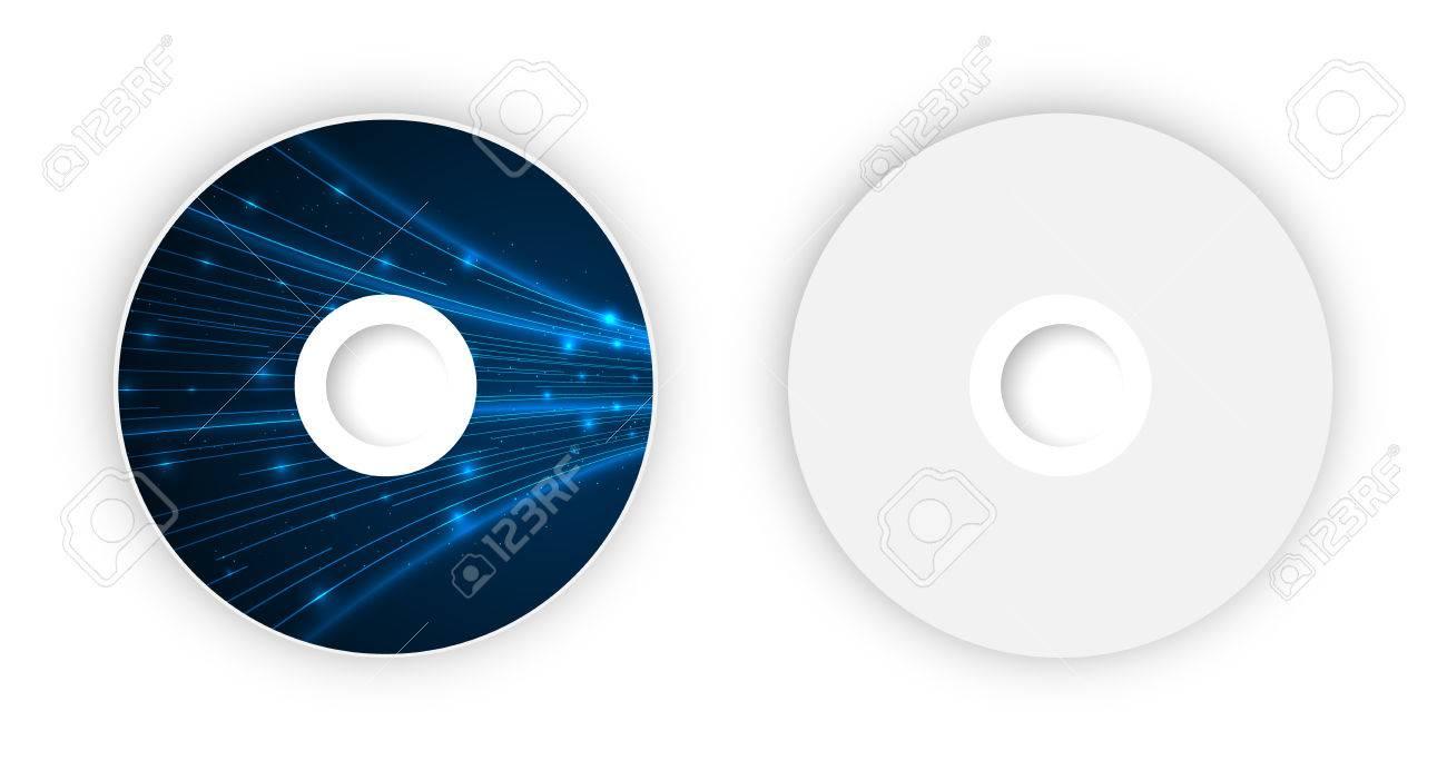 Plantilla Vector CD. Ilustración Para La Ilustración De Negocio ...