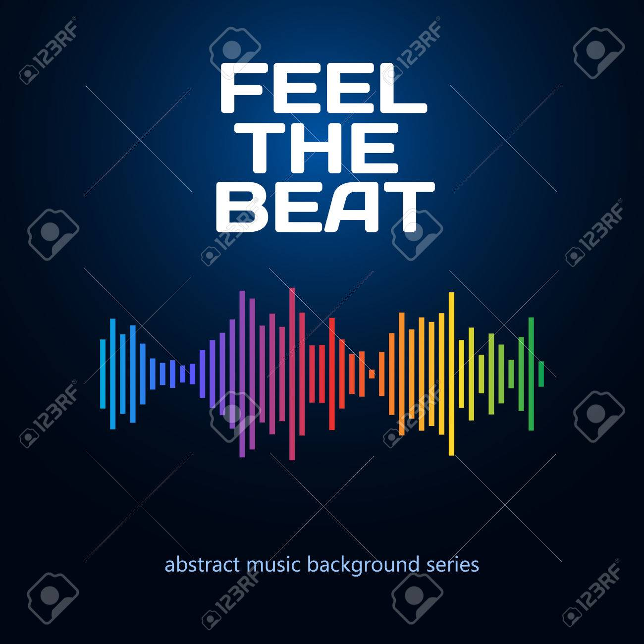 Equalizer icon. Can be used as logo to music album, dj set,concert banner. Vector illustration. - 50263296