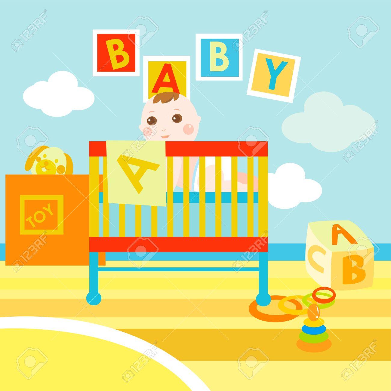 baby abc room Stock Vector - 11139542