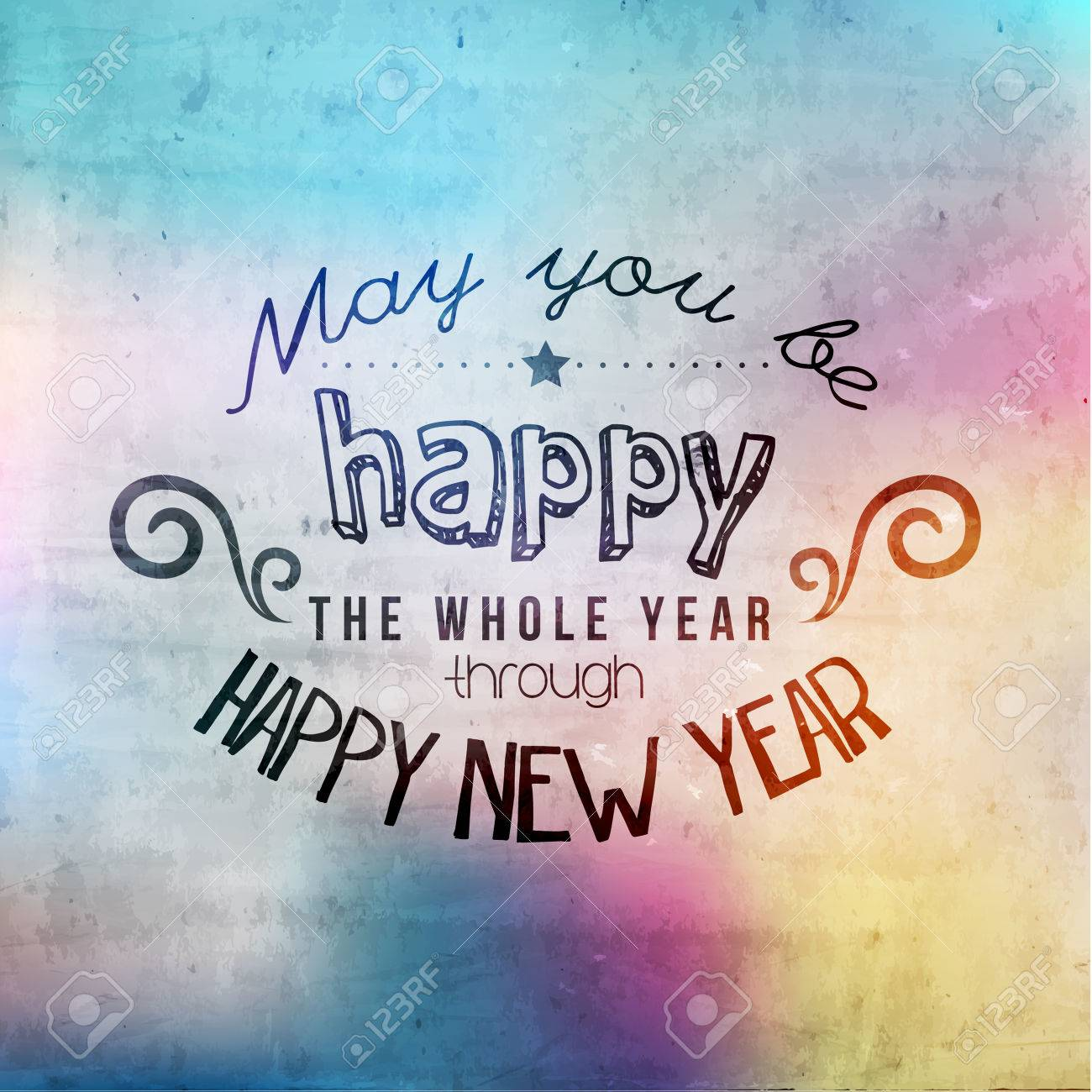 Happy new year greetings quote vector design royalty free cliparts happy new year greetings quote vector design stock vector 33328193 m4hsunfo