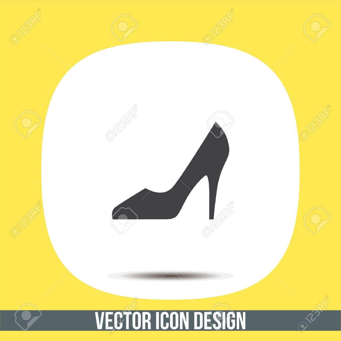 V7gyy6ibfm Vecteur Femme Talons Chaussures Hauts Icôneles Signent PXuZOki