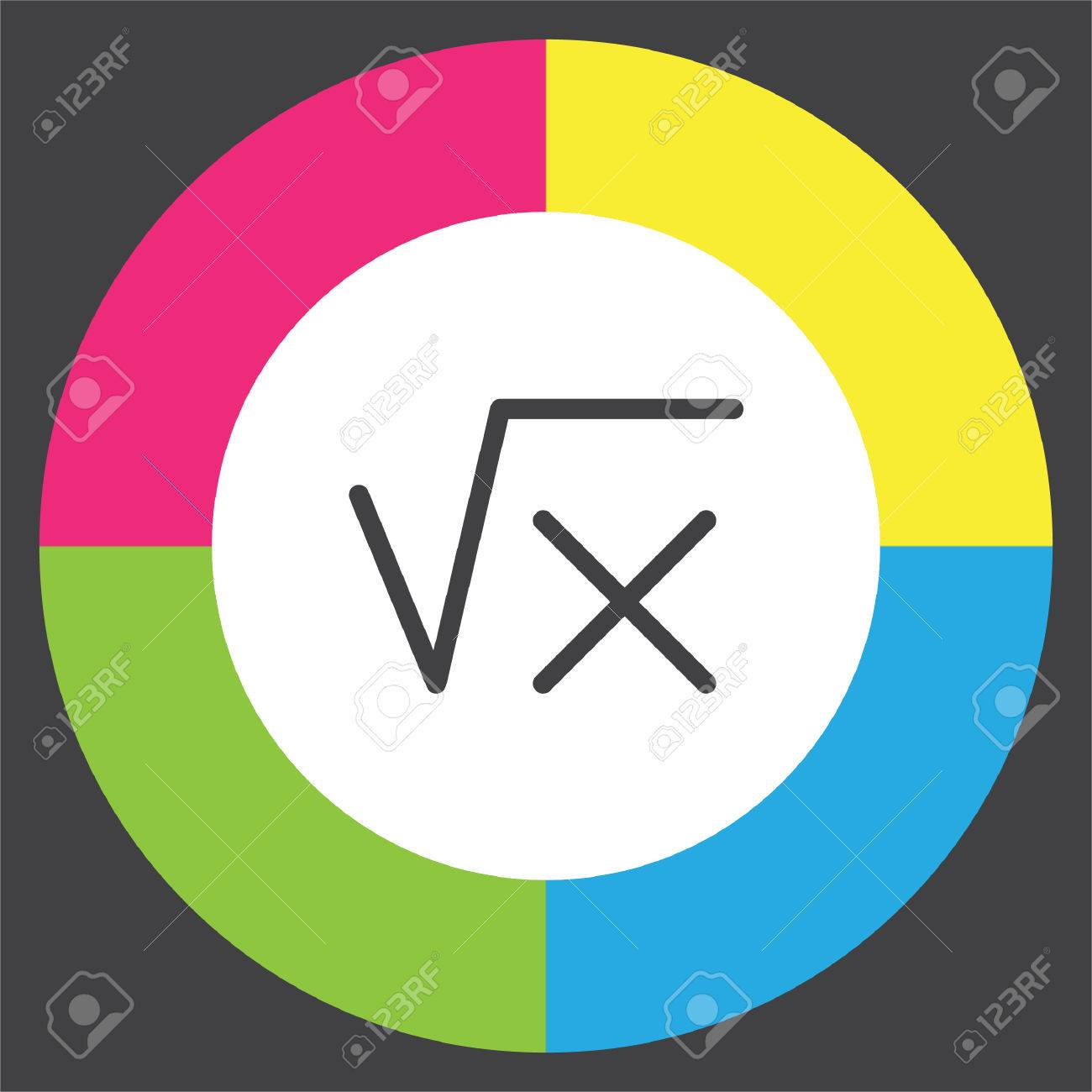 Square root sign line vector icon calculator symbol math sign square root sign line vector icon calculator symbol math sign icon stock vector biocorpaavc Image collections