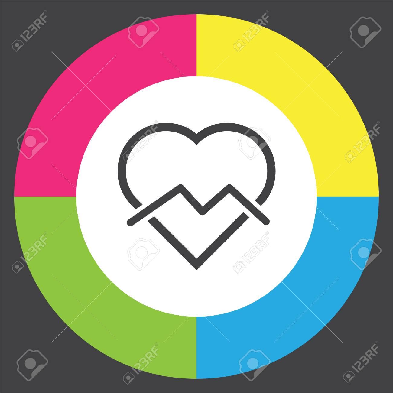 Broken heart sign line icon divorce sign end of love vector broken heart sign line icon divorce sign end of love vector symbol stock buycottarizona