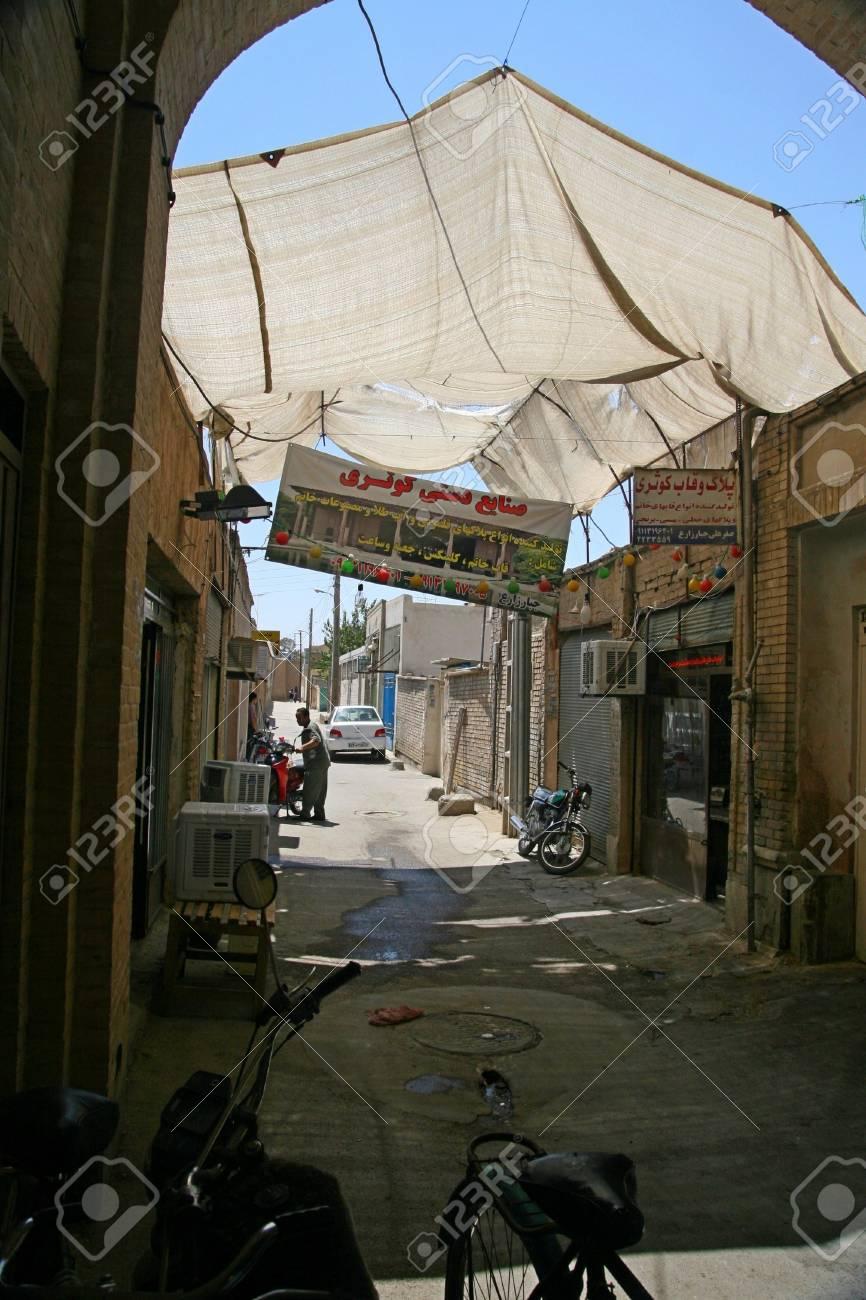Street near Jameh Mosque in Esfahan  Isfahan, Iran Stock Photo - 18471187