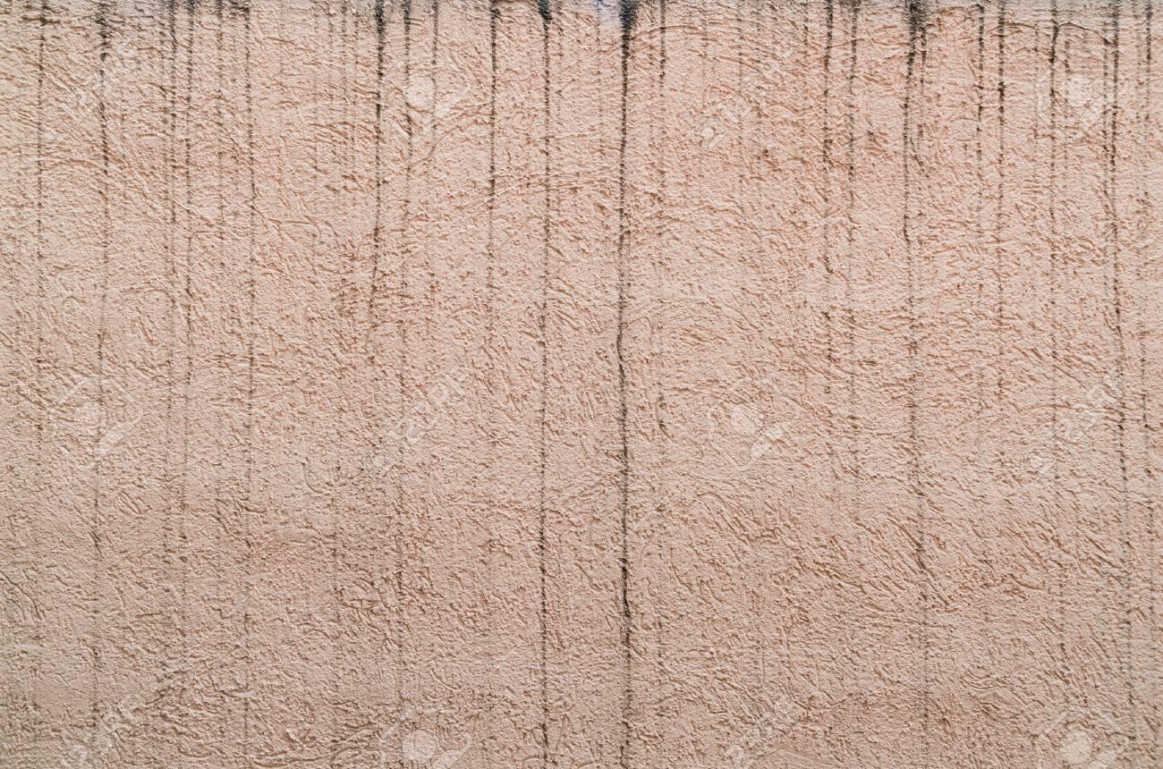 Peinture De Mur Rugueux Extérieur Espagnol Ruiné Par Des Taches D Eau