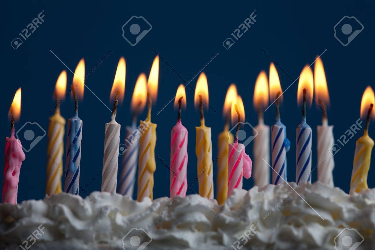 Beautiful Birthday Candles