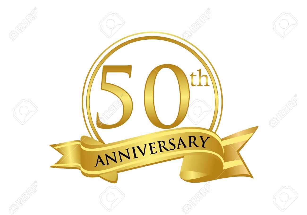 50th Anniversary Celebration Logo Vector Royalty Free Cliparts, Vectors,  And Stock Illustration. Image 118968961.