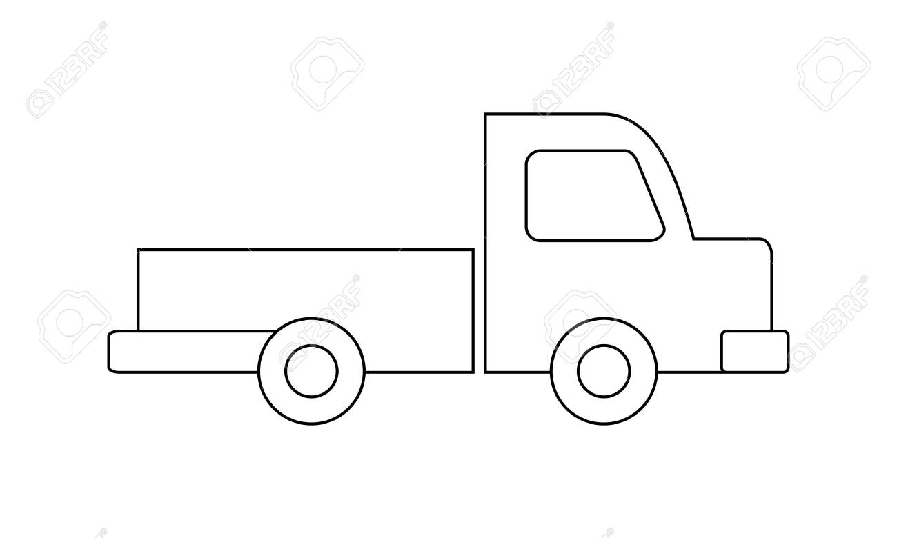 40 Free Printable Truck Coloring Pages Download | Coloriage ... | 780x1300