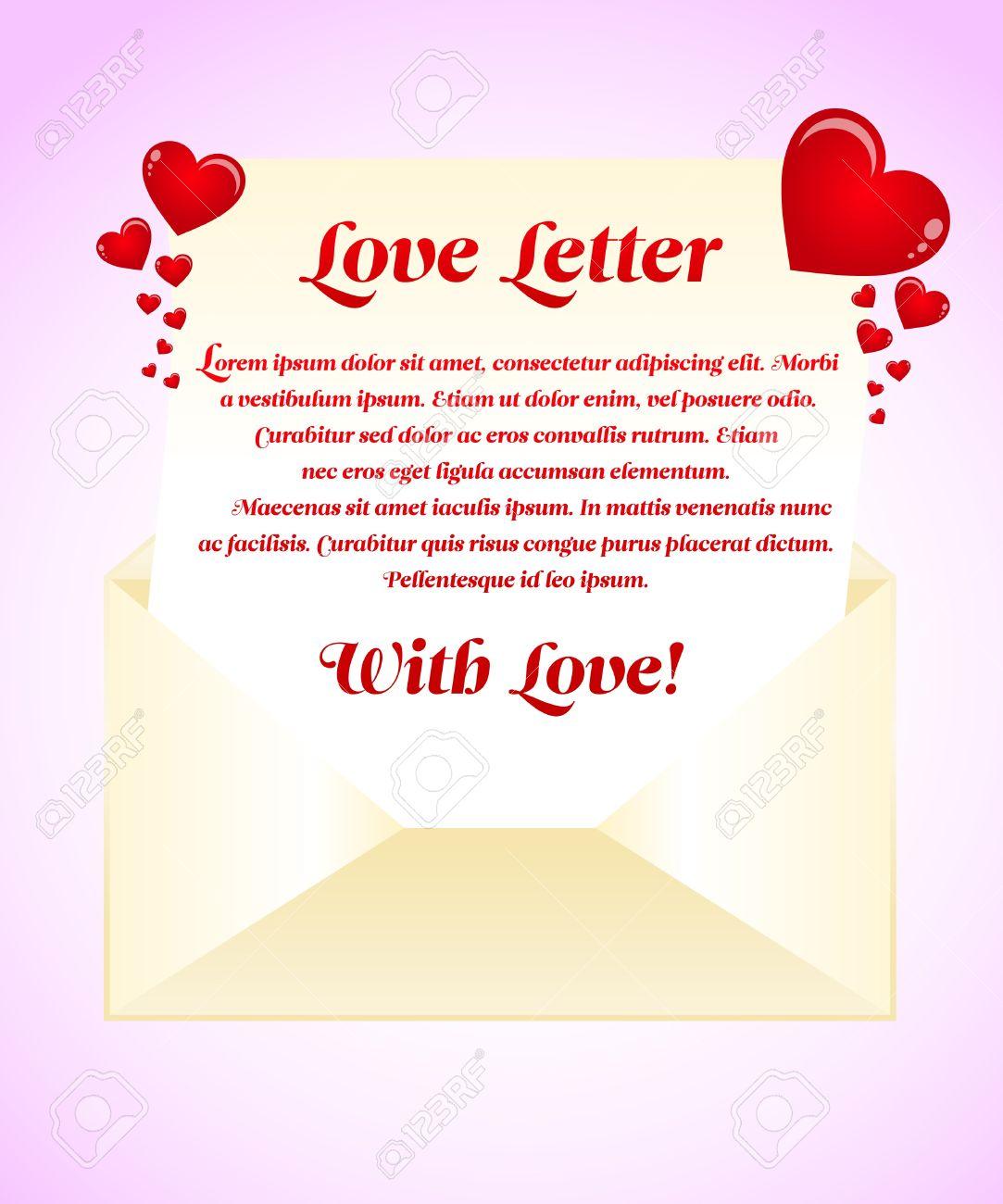 Doc585350 Love Letter Templates Free 65 Love Letter Templates – Templates for Love Letters