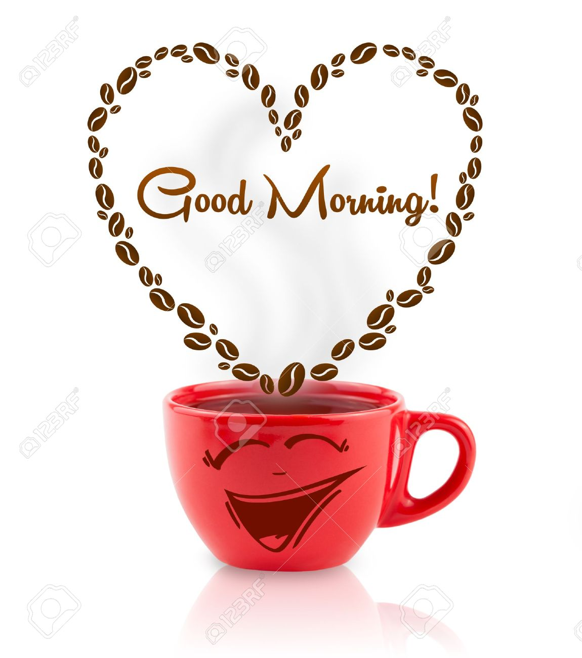 Good morning images with love symbol