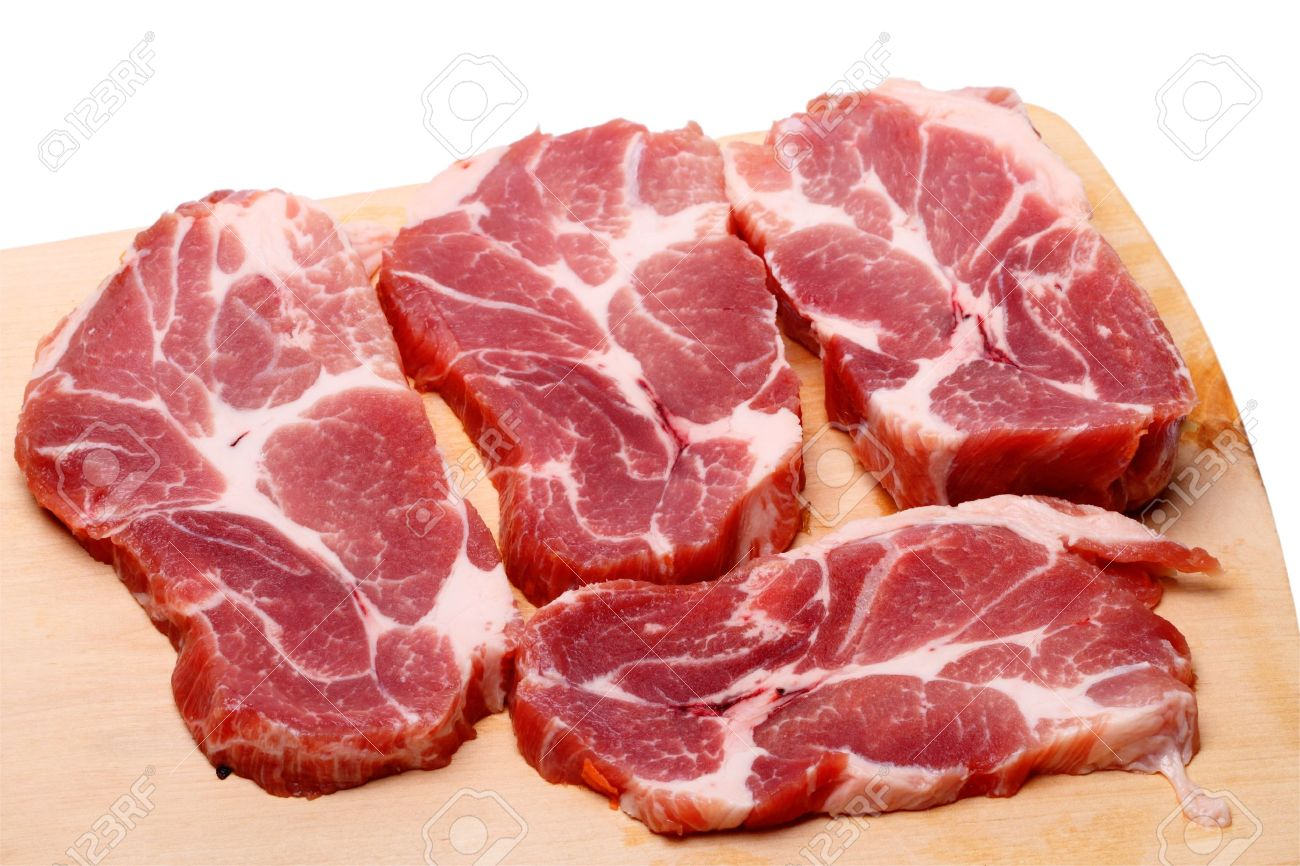 Fine Cutting Board With Meat Of Fresh Marbled On A Stock Photo 9866611 Throughout Design Decorating