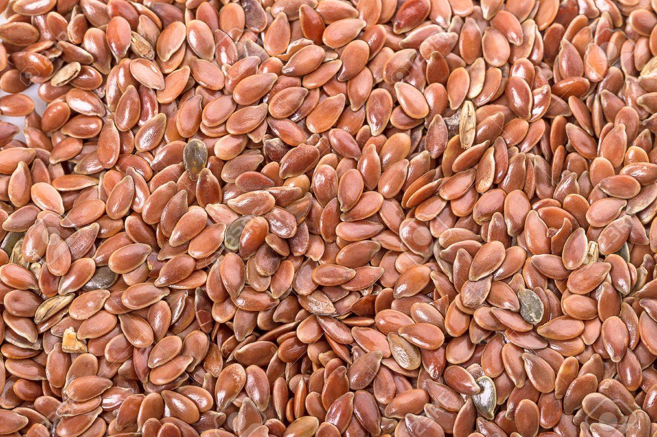 Flax seeds. Food background pictures. Stock Photo - 16643970