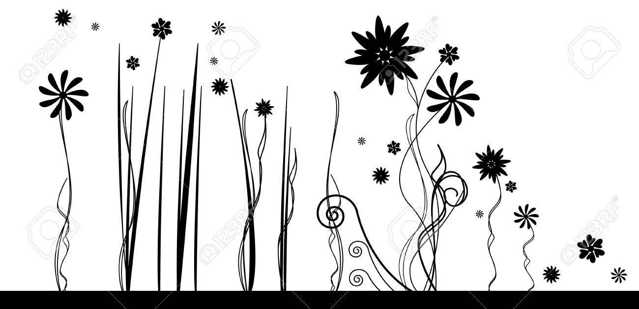 vector floral illustration Stock Vector - 10363969