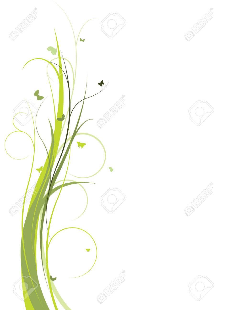 Elegant floral design Stock Vector - 3516369