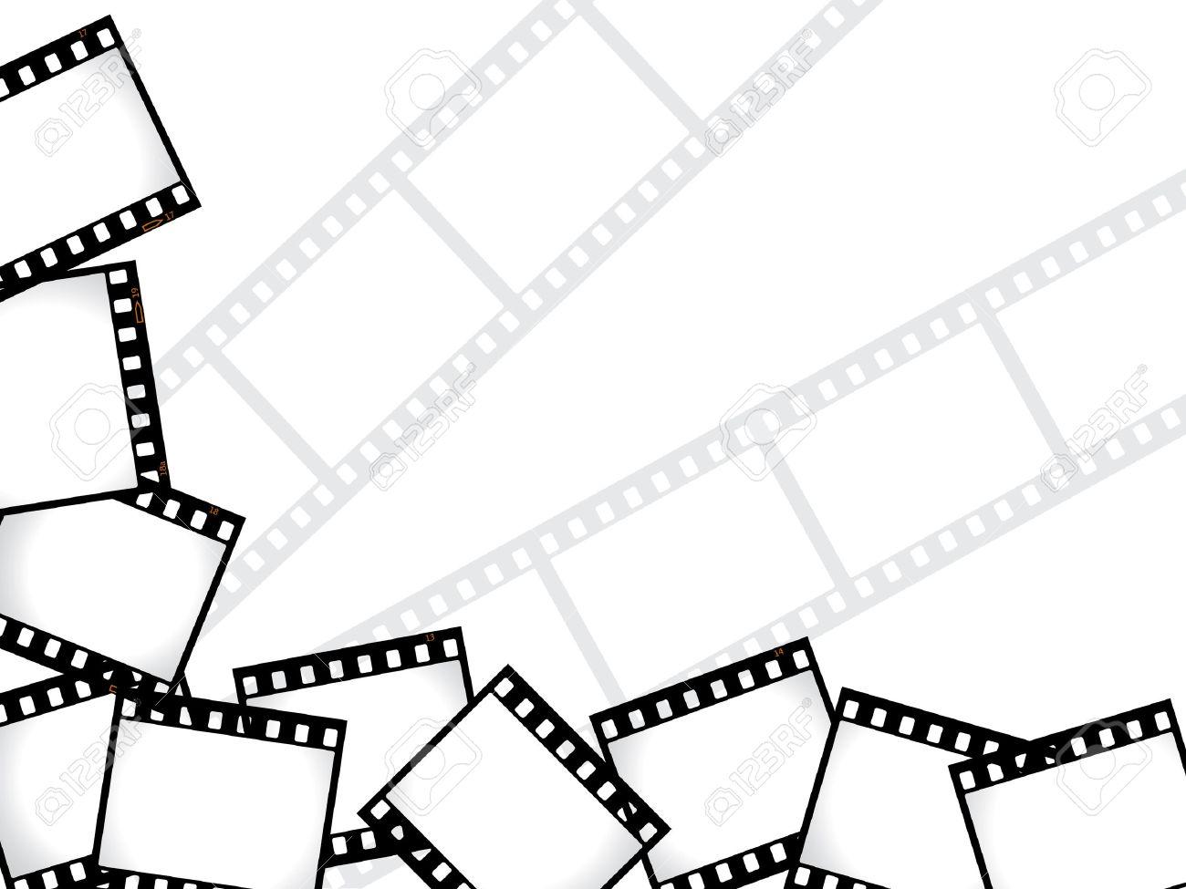 Film background Stock Vector - 6748488