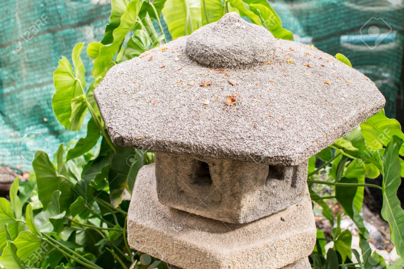 Stone lantern of Japan garden, japan, shrine