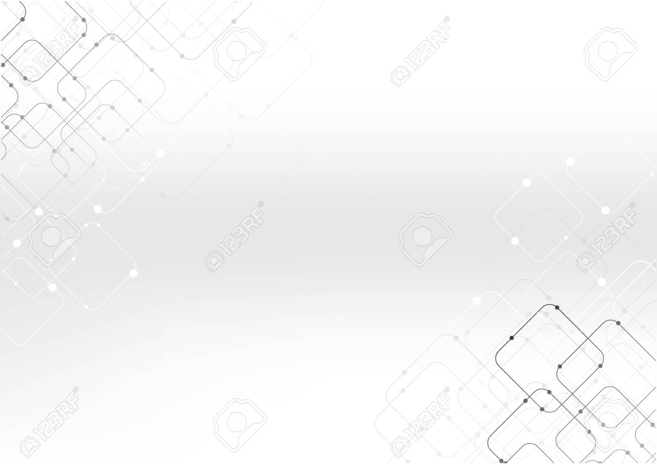 vector polygon background abstract technology communication data Science - 148147892