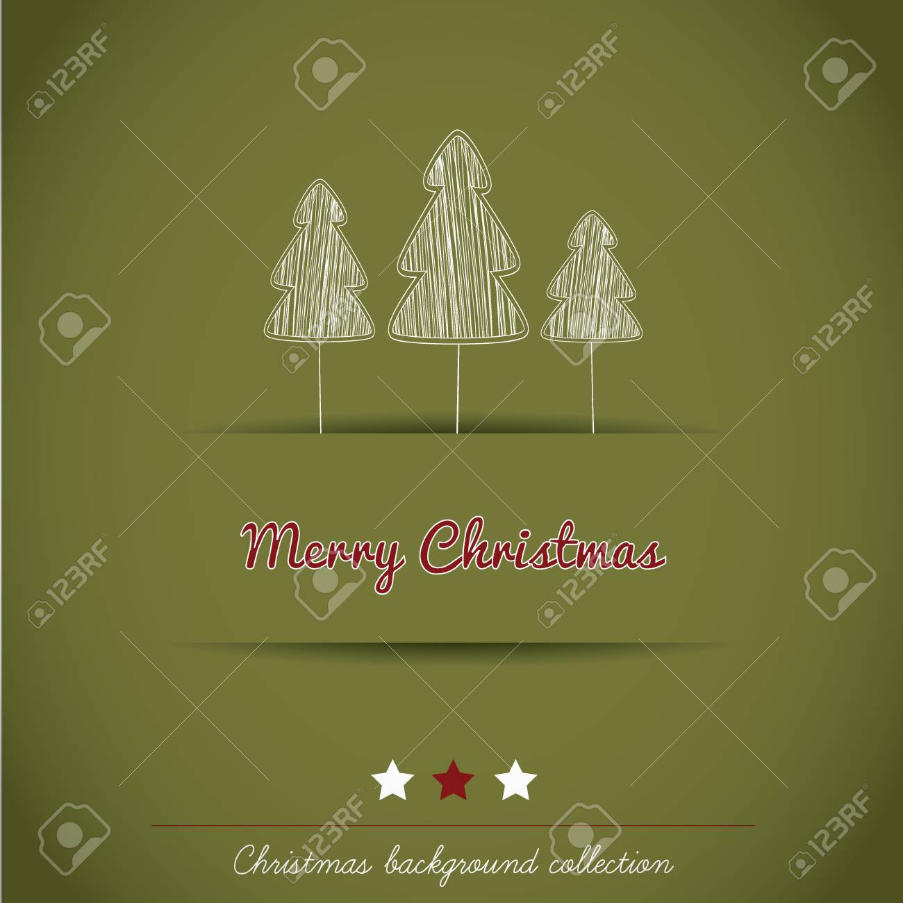Christmas background collection Stock Vector - 16247355