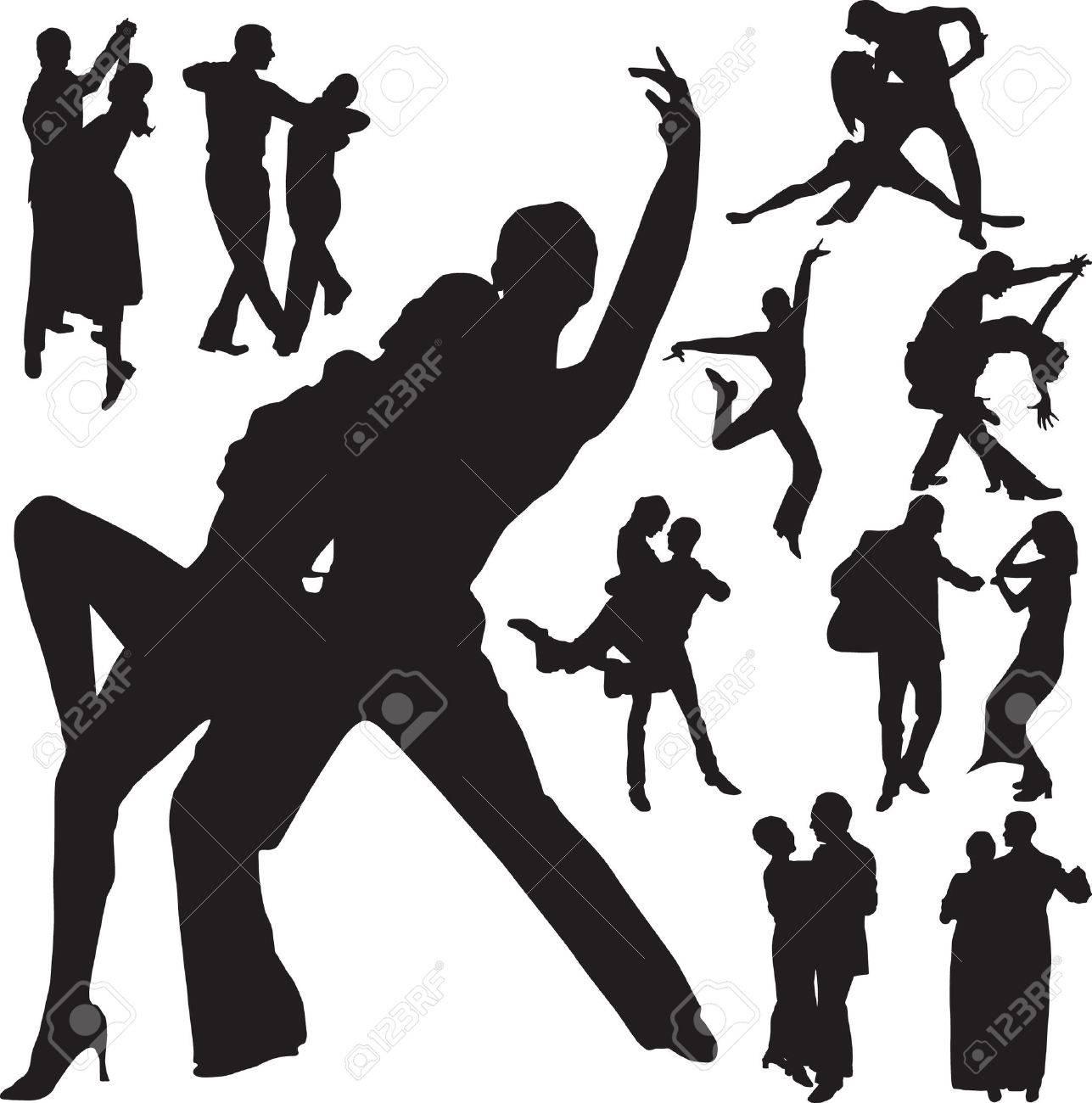 dance vector Stock Vector - 5948814