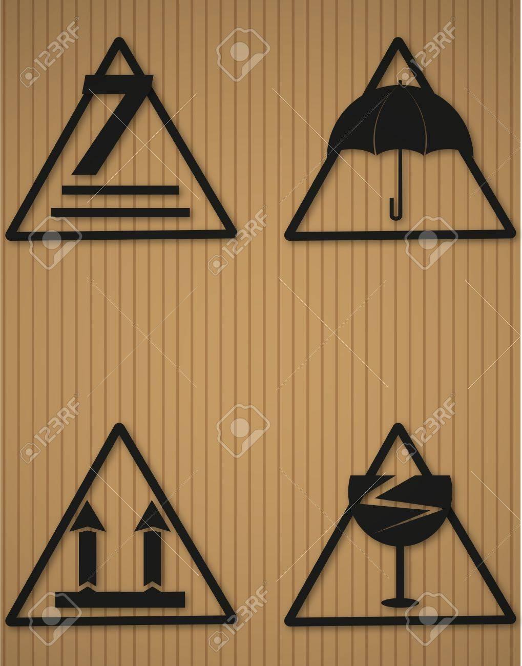 Box Fragile Symbol Stock Vector - 17974005