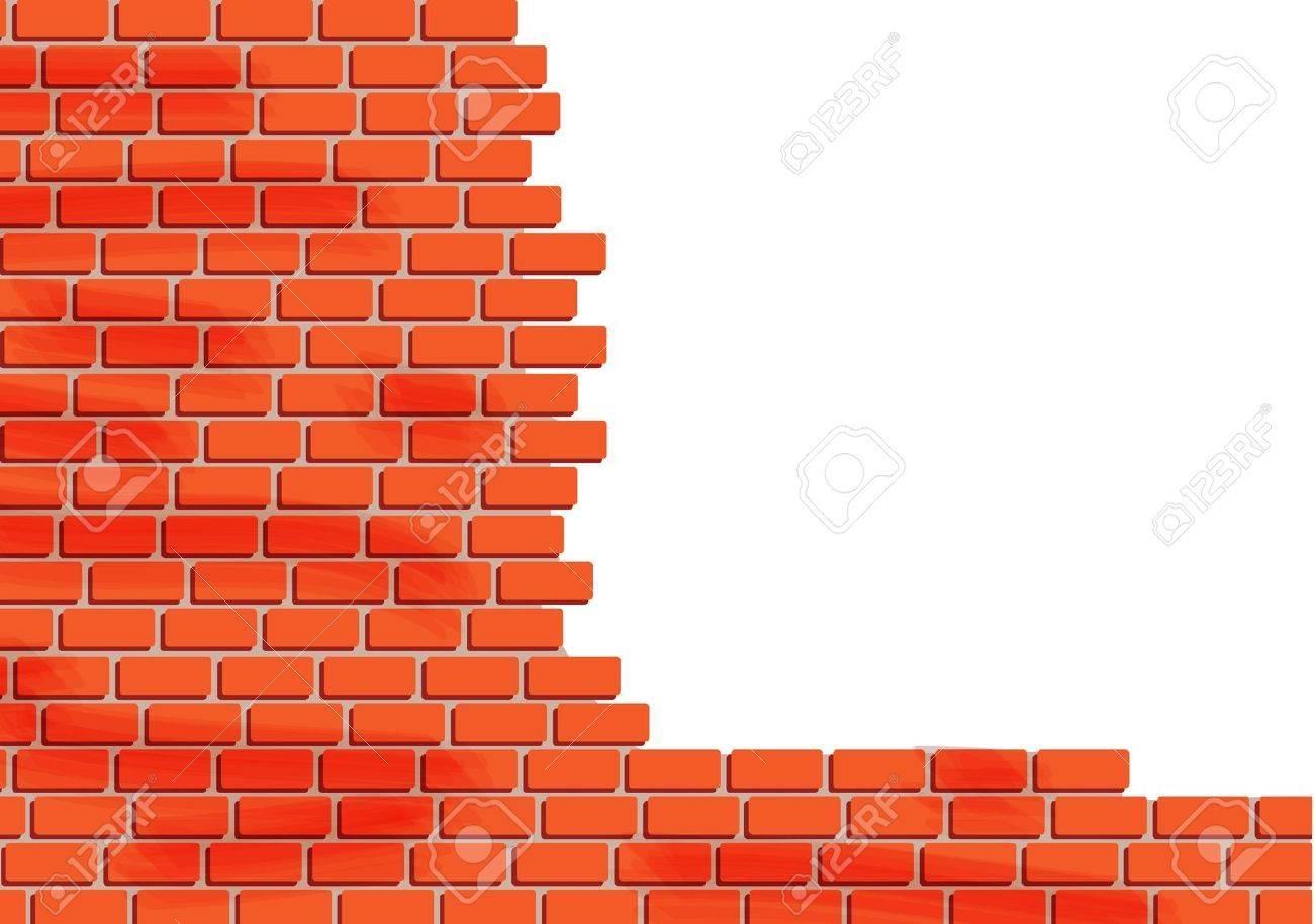 Brick Wall Stock Vector - 19027387